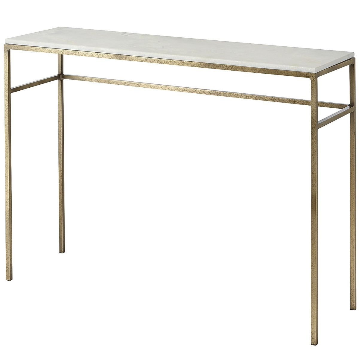 If You're Looking For A Way To Elevate Your Living Space, Ethel For Elke Marble Console Tables With Polished Aluminum Base (View 7 of 20)