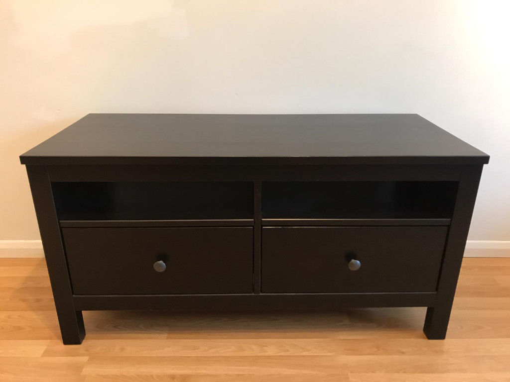 Ikea Black Brown Tv Stand | In Walton On Thames, Surrey | Gumtree In Walton 60 Inch Tv Stands (View 5 of 20)