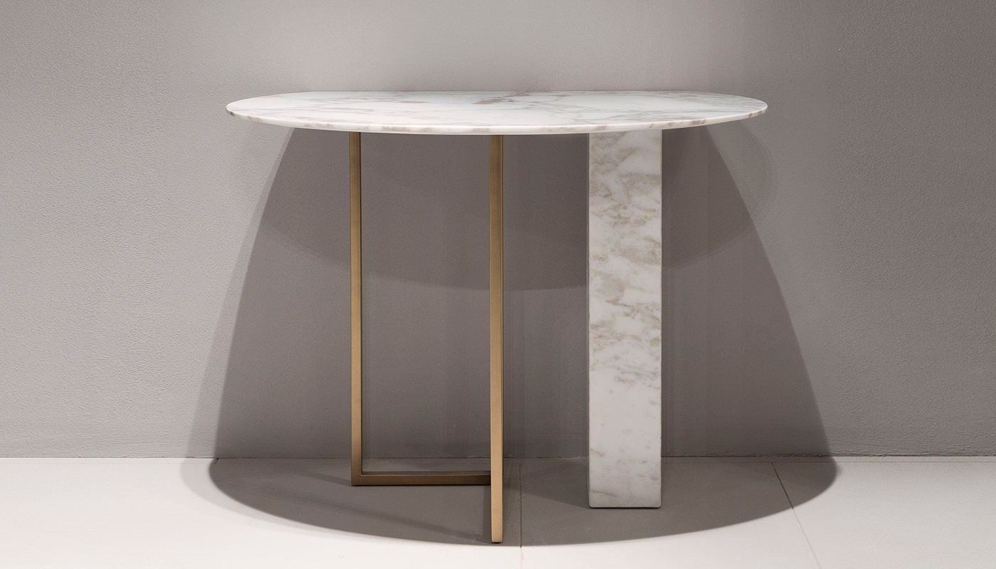 Img 0078mod 1400x800 | Console | Pinterest | Consoles, Tables And Intended For Elke Marble Console Tables With Polished Aluminum Base (View 10 of 20)