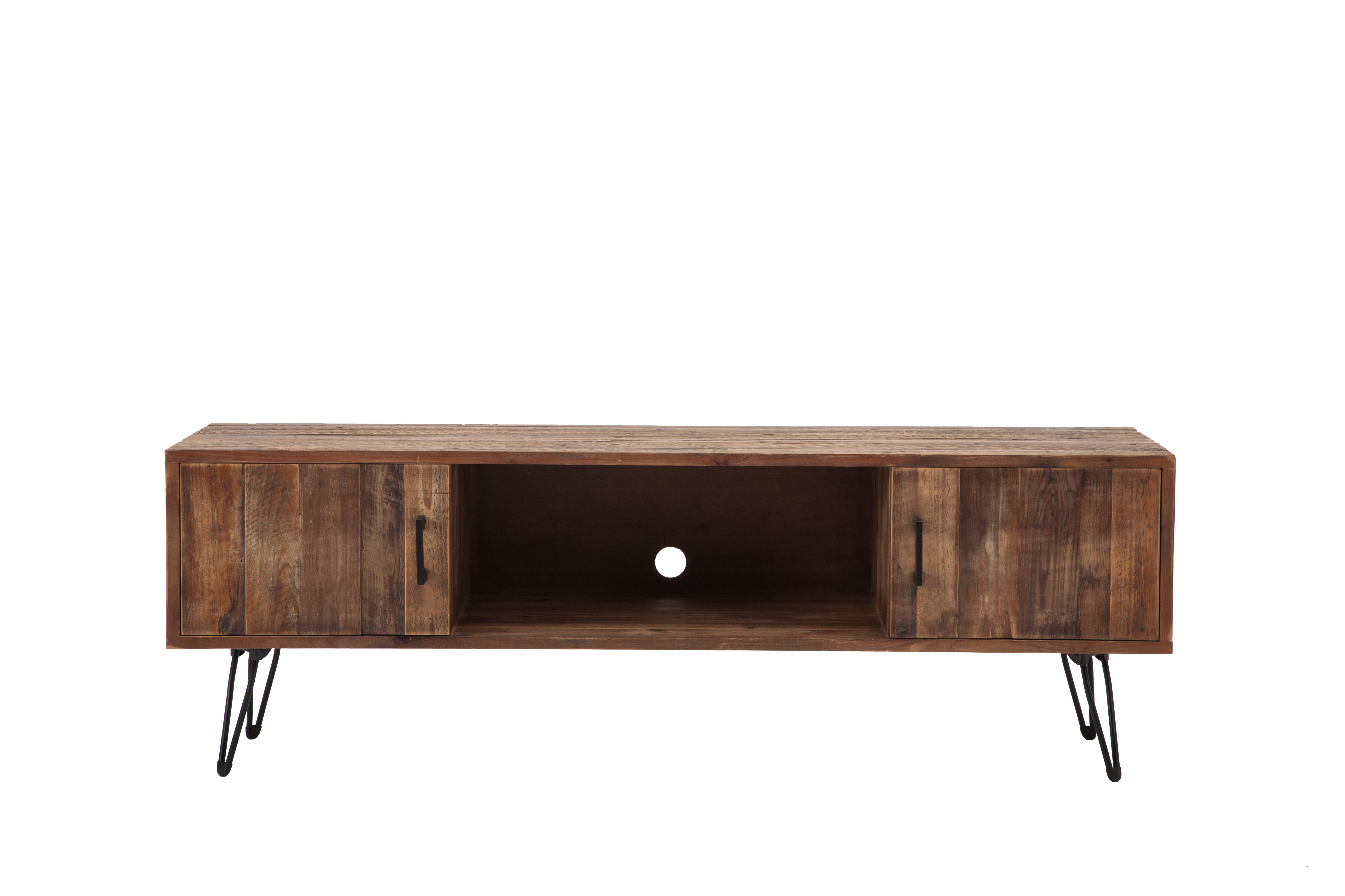Industrial Tv Stands | Joss & Main Throughout Walton 74 Inch Open Tv Stands (View 18 of 20)