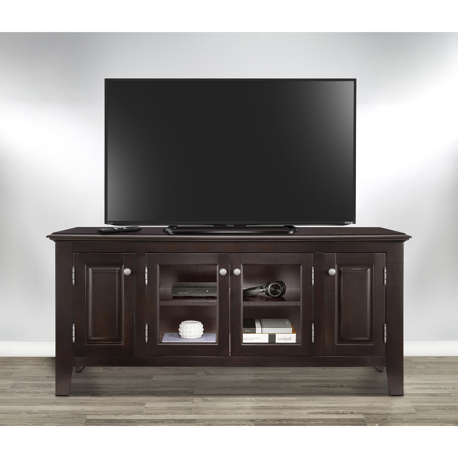 "Insignia 60"" Tv Stand – Dark Espresso : Tv Stands – Best Buy Canada With Valencia 60 Inch Tv Stands (View 13 of 20)"