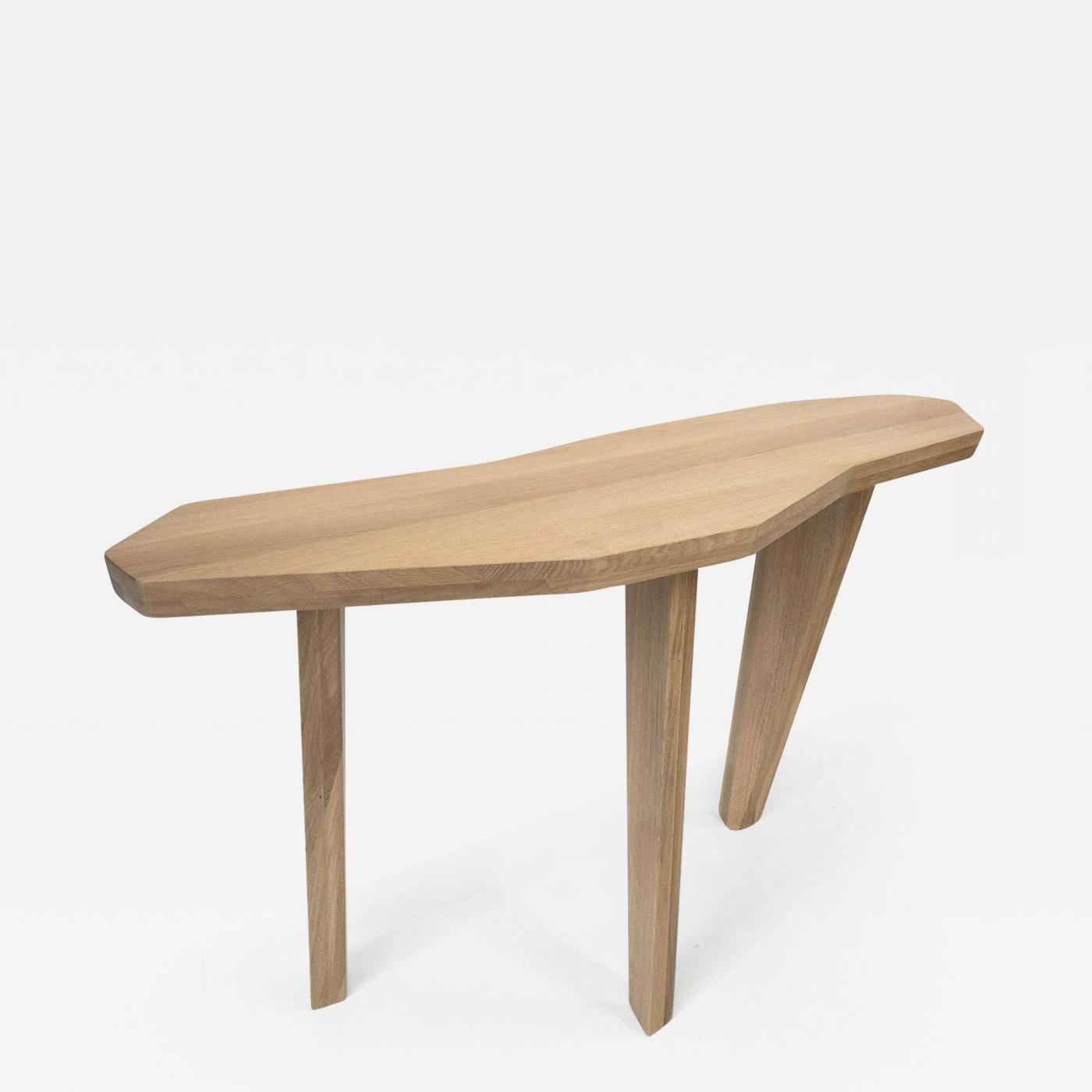 Jacques Jarrige – Sculpted Oak Console Tablejacques Jarrige Pertaining To Jacque Console Tables (Gallery 17 of 20)