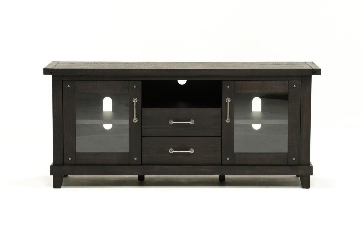 Jaxon 71 Inch Tv Stand | Living Spaces Regarding Sinclair Blue 74 Inch Tv Stands (View 7 of 20)