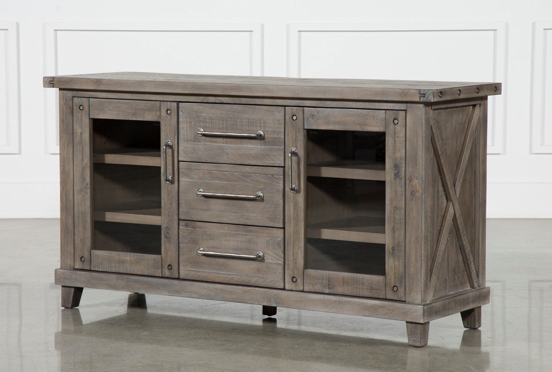 Jaxon Grey Sideboard | Cocktail Table | Sideboard, Dining, Dining Room Regarding Sinclair Grey 68 Inch Tv Stands (Gallery 12 of 20)