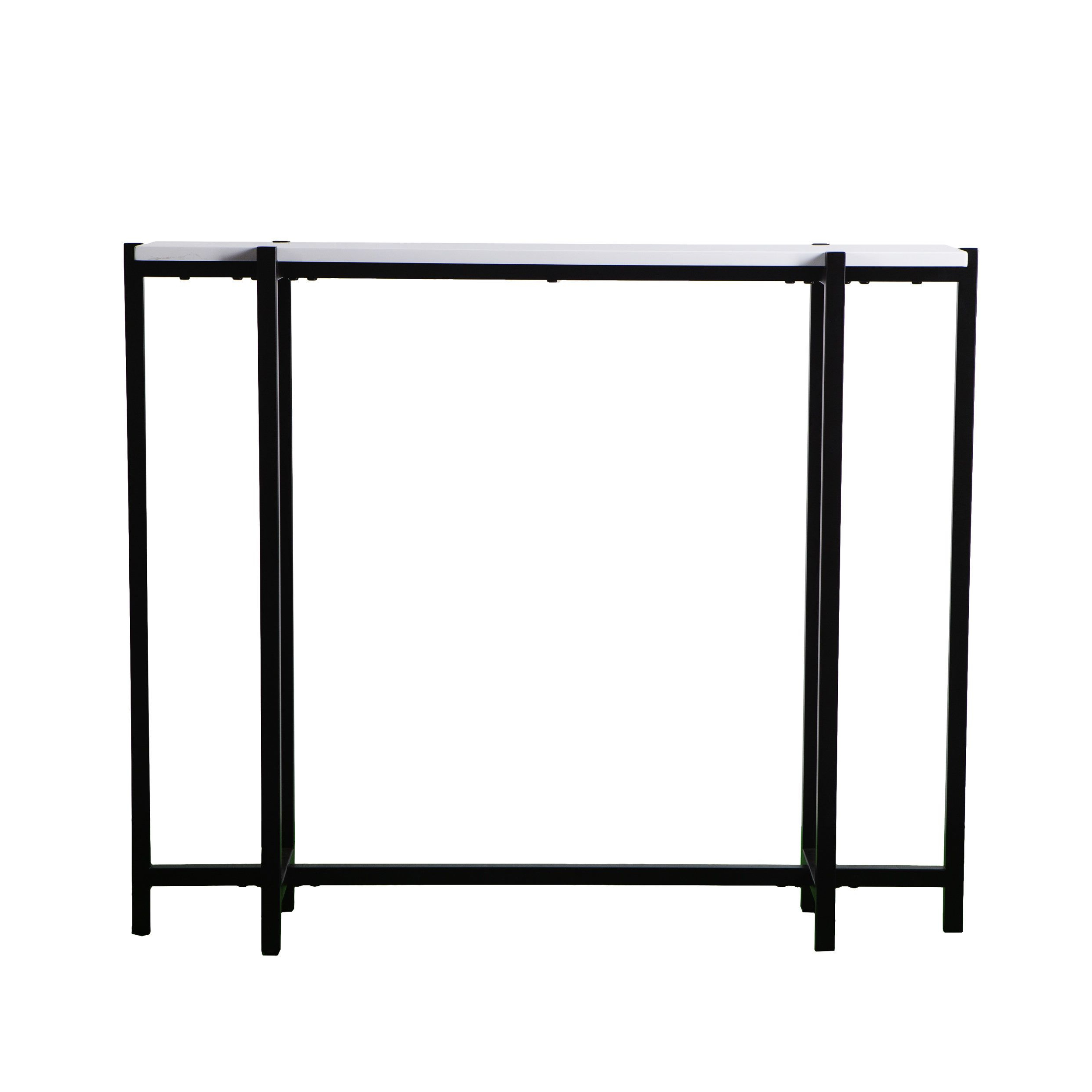 Jeske Contemporary Narrow Console Table | Furniture | Pinterest Within Remi Console Tables (Gallery 16 of 20)