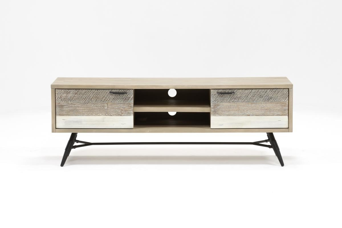 Kai 63 Inch Tv Stand | Living Spaces In Jacen 78 Inch Tv Stands (View 8 of 20)