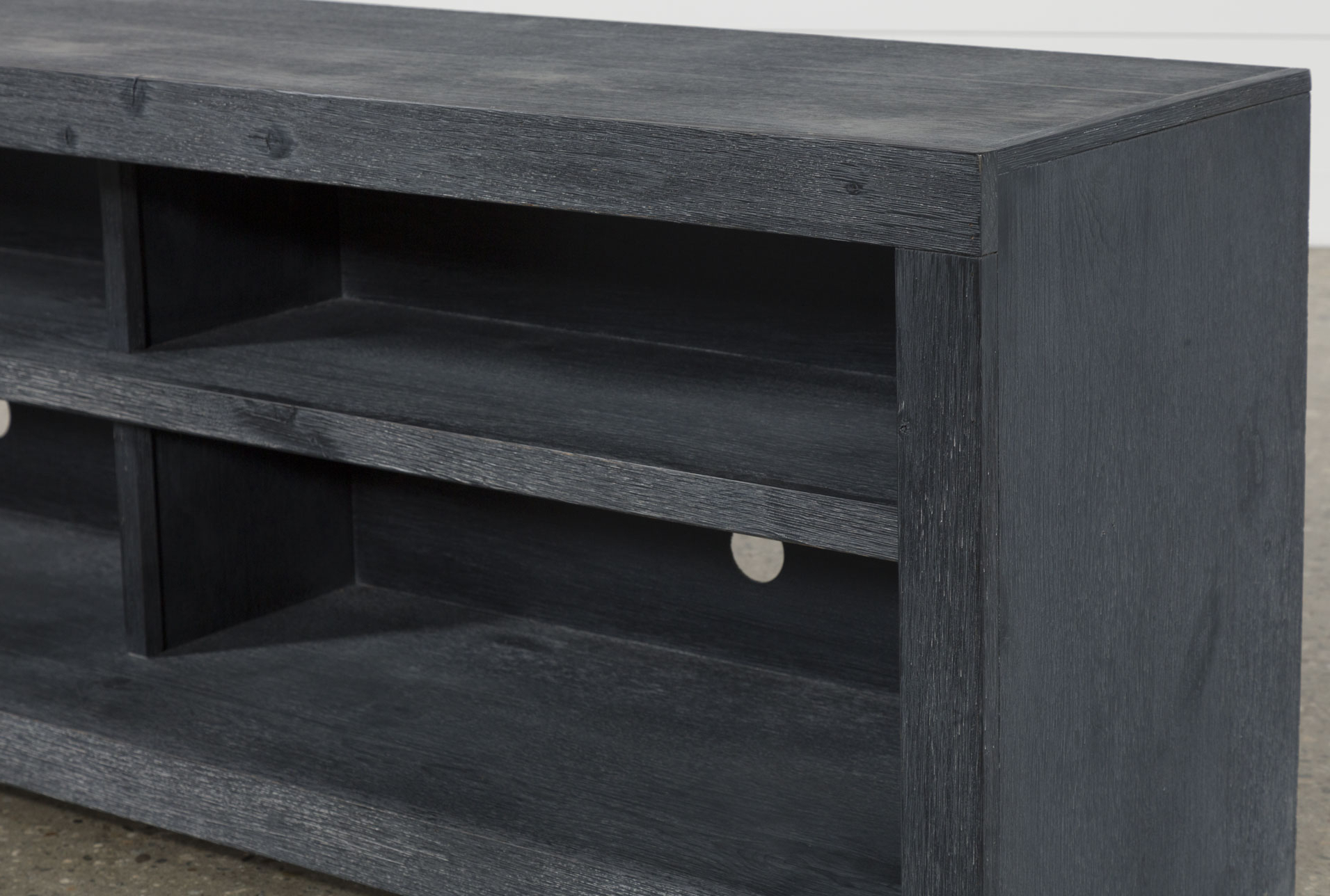 Kilian Black 74 Inch Tv Stand | Products | Pinterest | Black In Kilian Black 74 Inch Tv Stands (View 2 of 20)