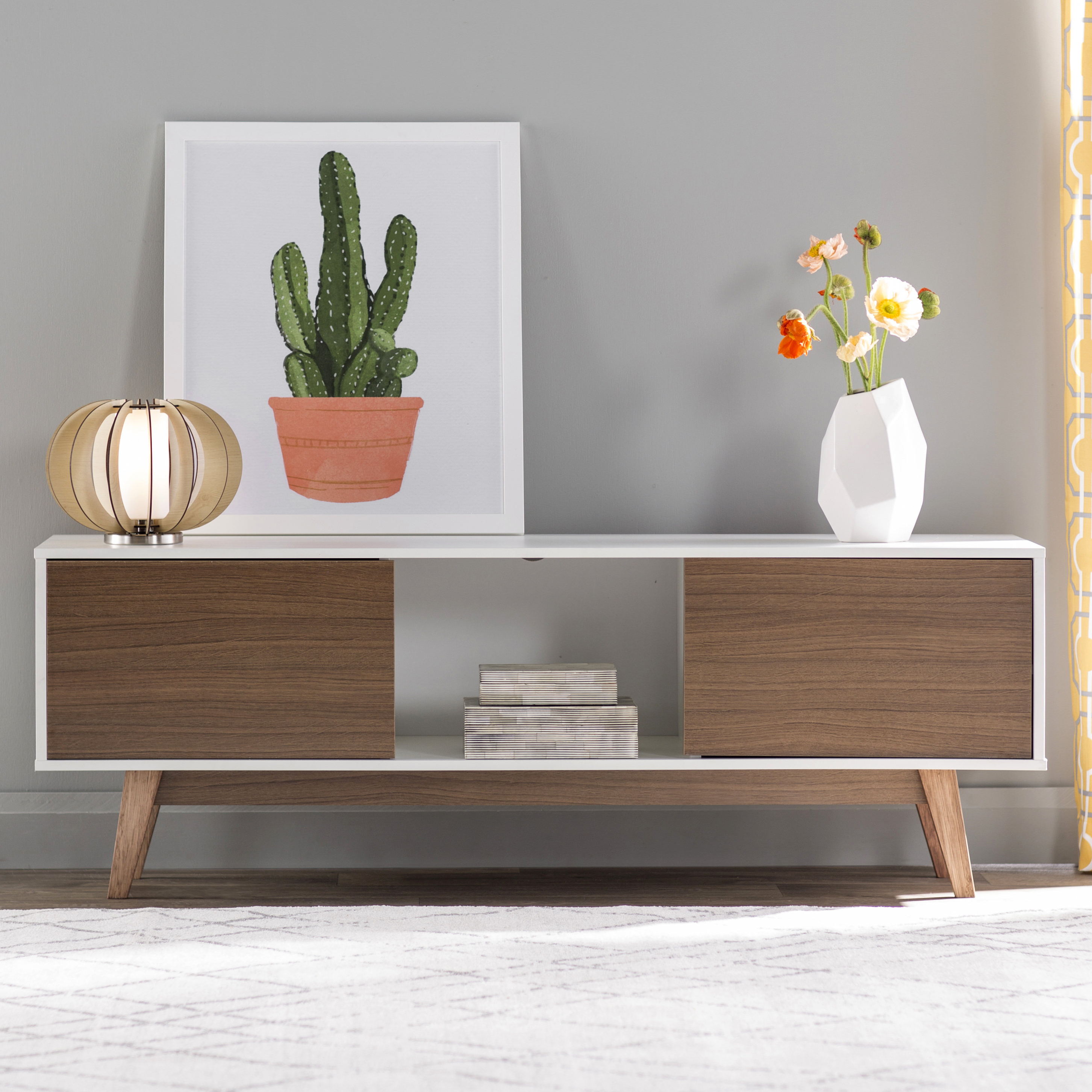 """Langley Street Makayla Tv Stand For Tvs Up To 59"""" & Reviews 
