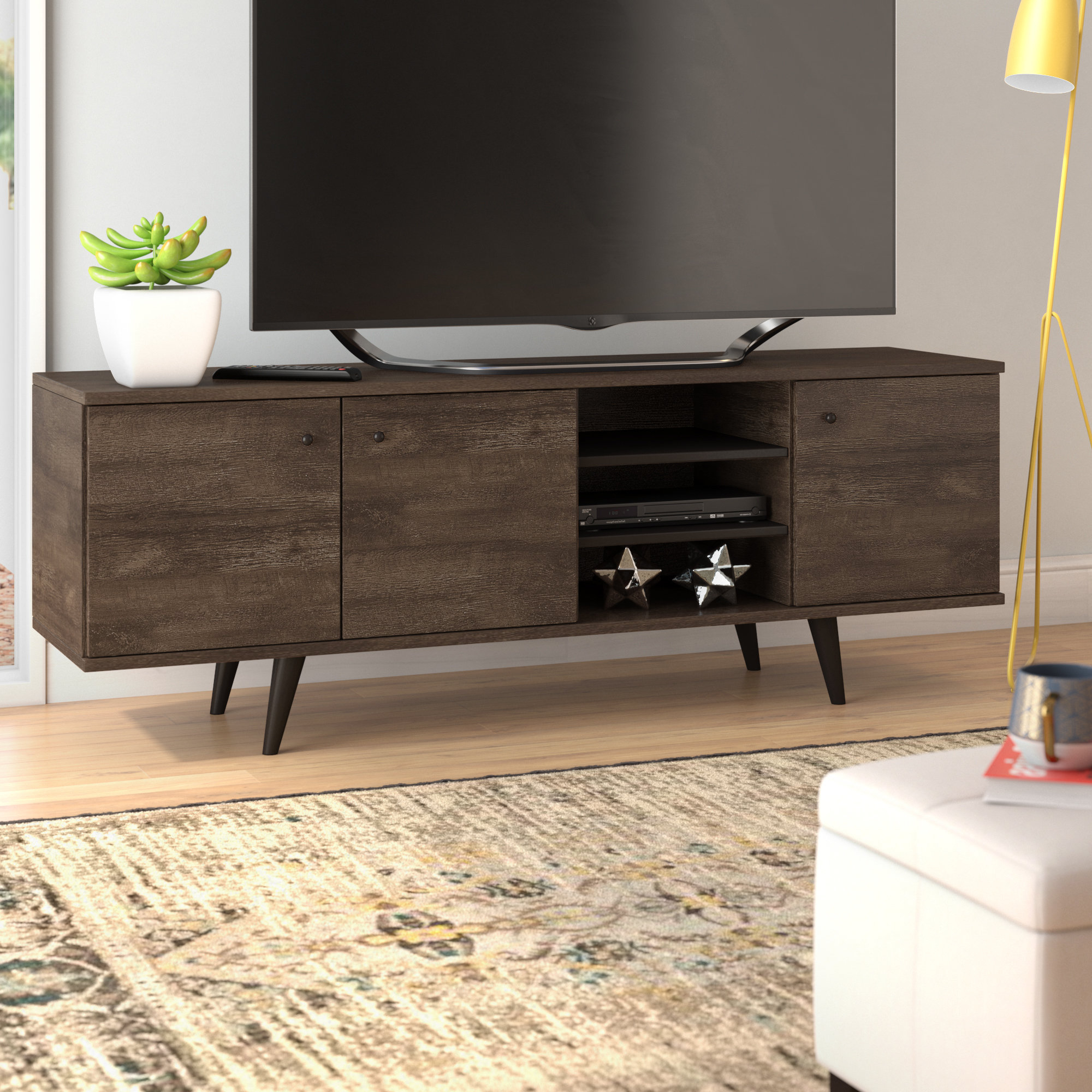 "Langley Street Norloti Tv Stand For Tvs Up To 78"" & Reviews 