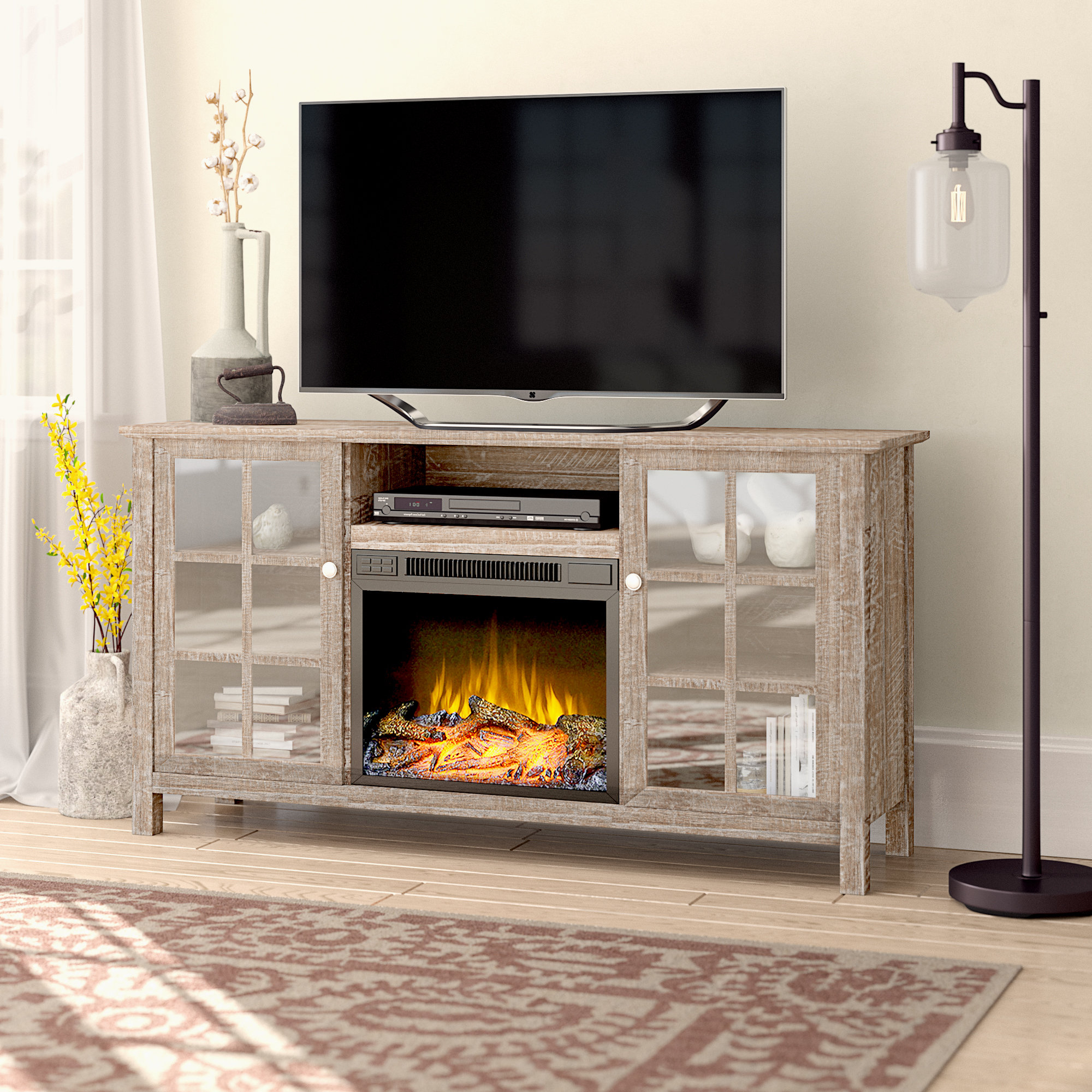 Laurel Foundry Modern Farmhouse Benoit Tv Stand For Tvs Up To 65 With Caden 63 Inch Tv Stands (View 6 of 20)