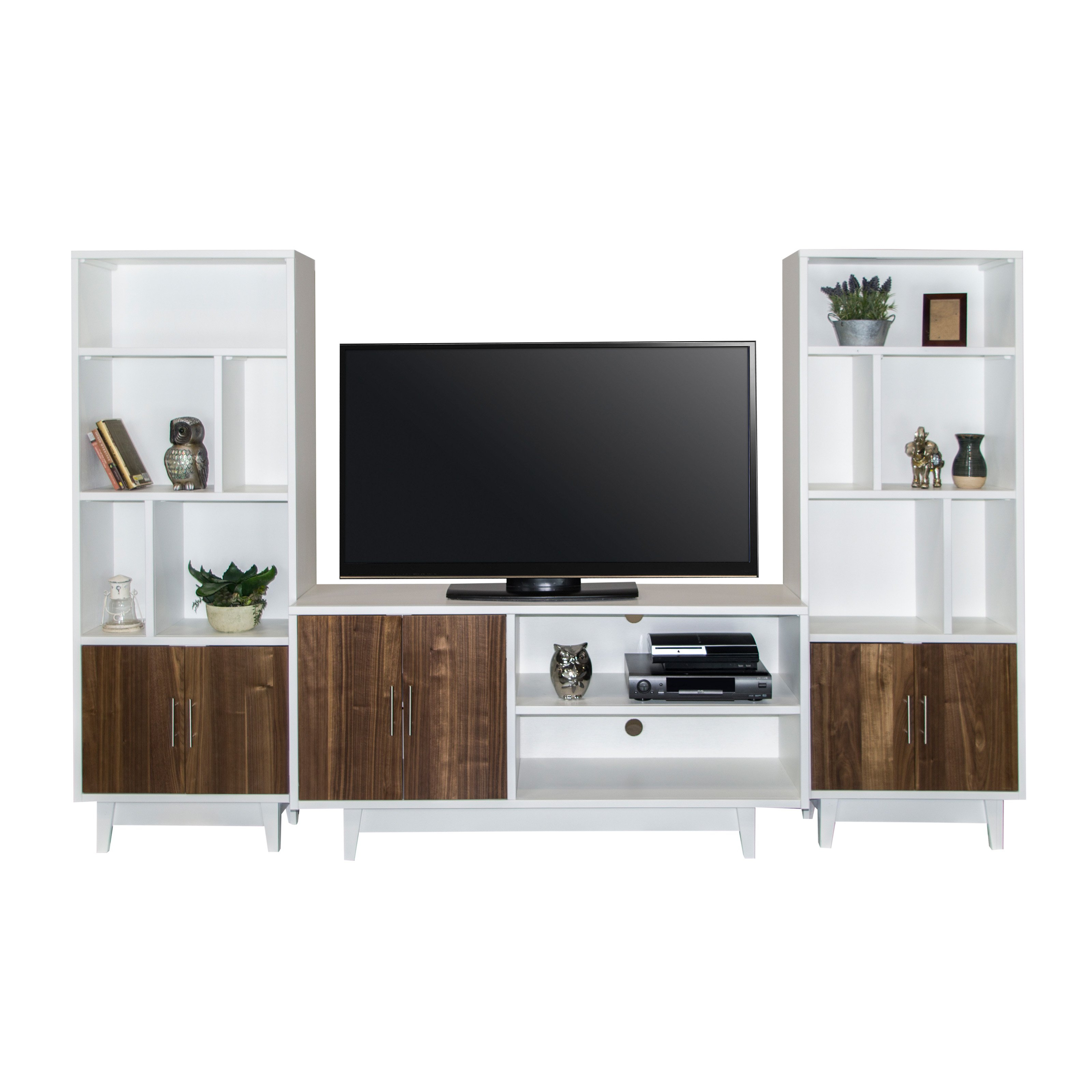 Legends Furniture Draper Contemporary Tv Console With Optional Wall Inside Draper 62 Inch Tv Stands (View 11 of 20)