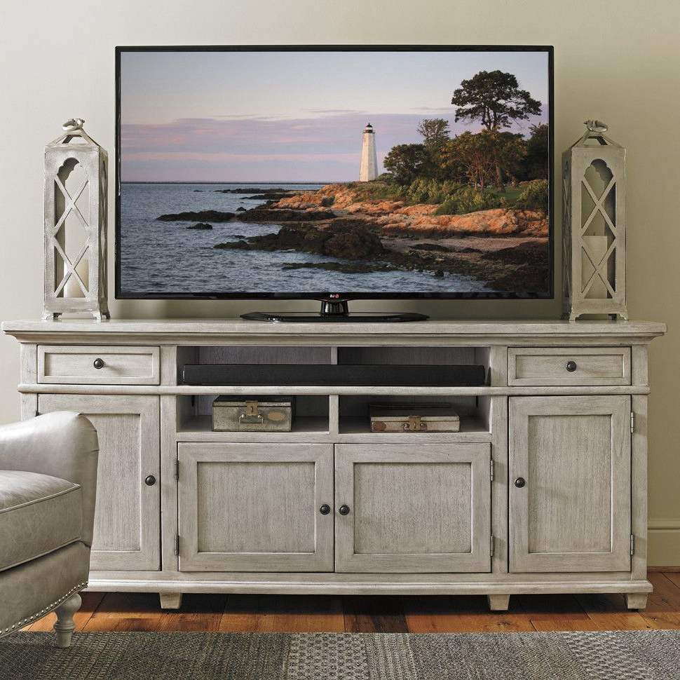 Lexington Oyster Bay Point Tv Stand & Reviews | Wayfair | Interior Within Ducar 64 Inch Tv Stands (View 10 of 20)