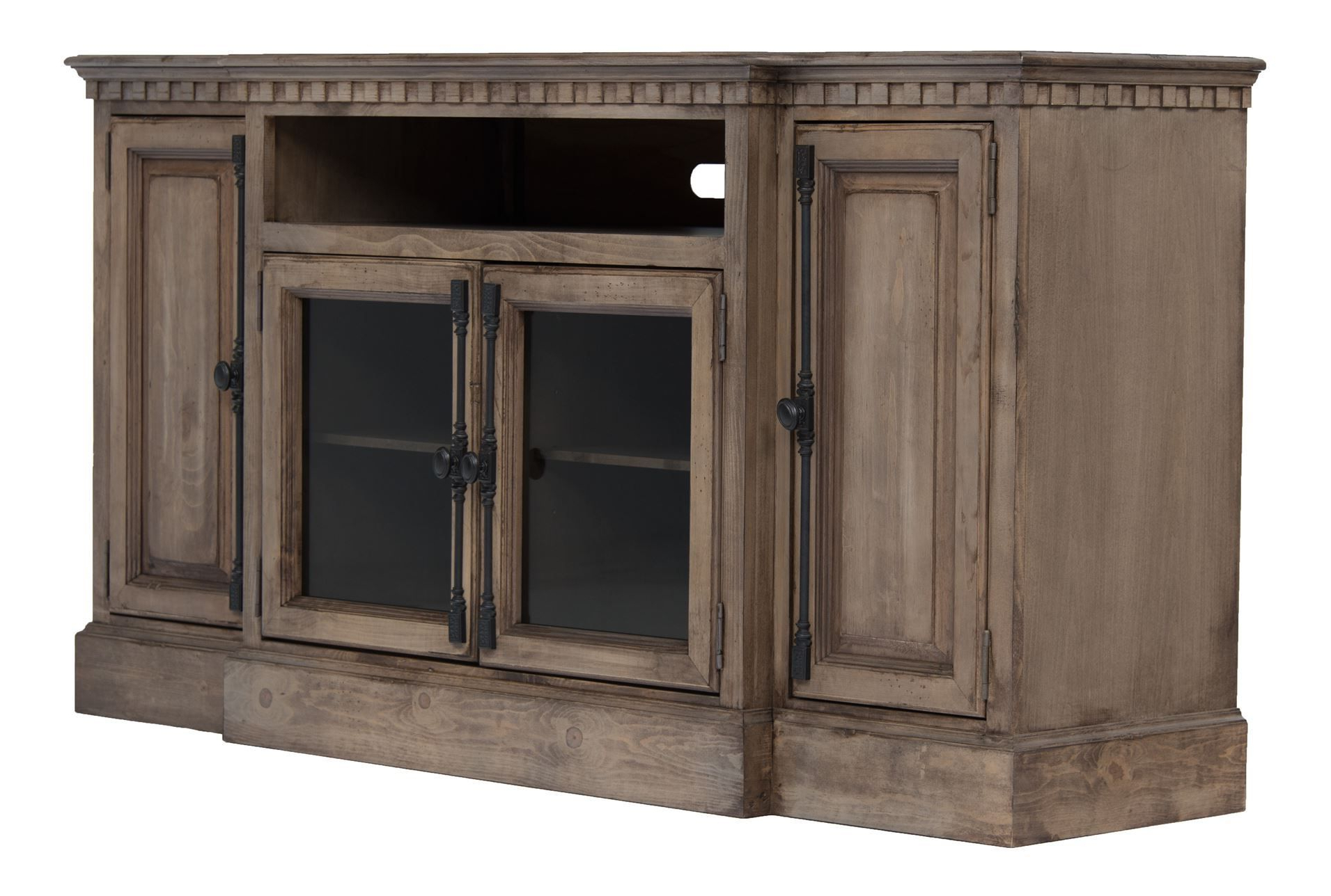 Living Spaces Restoration Hardware Look Alike Arabella 68 Inch Tv Within Sinclair Blue 74 Inch Tv Stands (View 10 of 20)