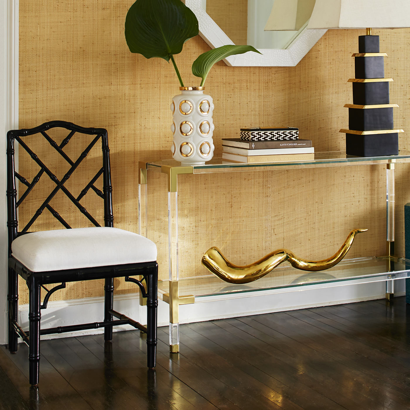 Lookalike For Less: Jonathan Adler Jacques Console – York Avenue Regarding Jacque Console Tables (View 5 of 20)