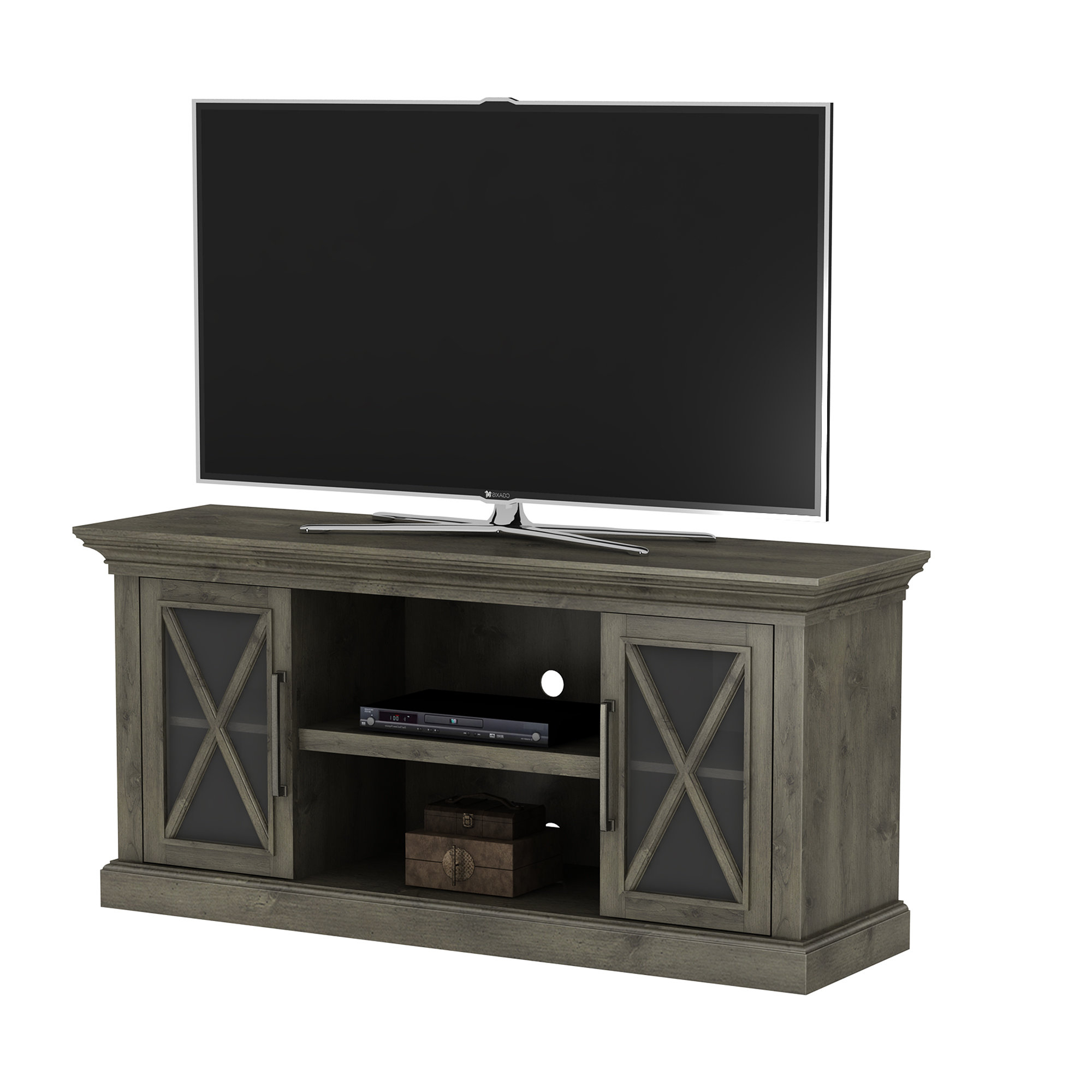 """Loon Peak Blane Tv Stand For Tvs Up To 65""""   Wayfair With Vista 60 Inch Tv Stands (View 4 of 20)"""
