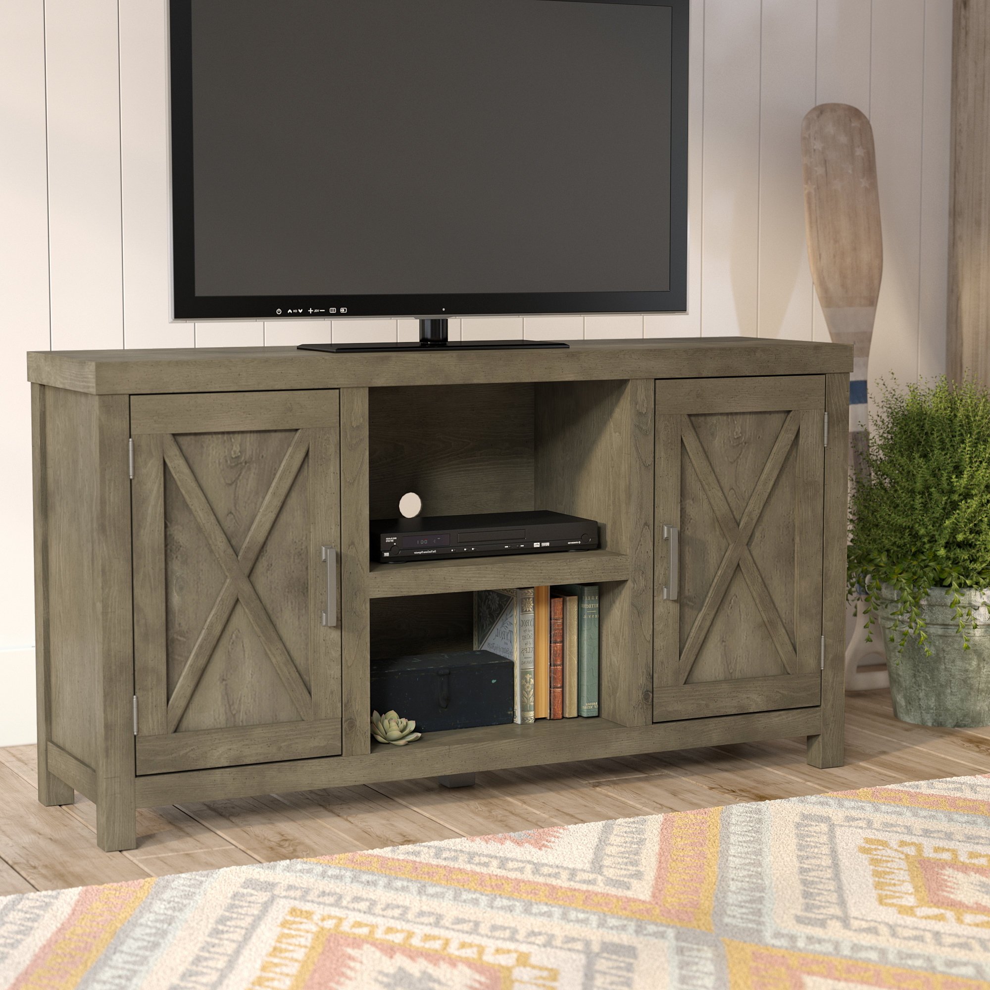 """Loon Peak Dodson Tv Stand For Tvs Up To 60"""" & Reviews 