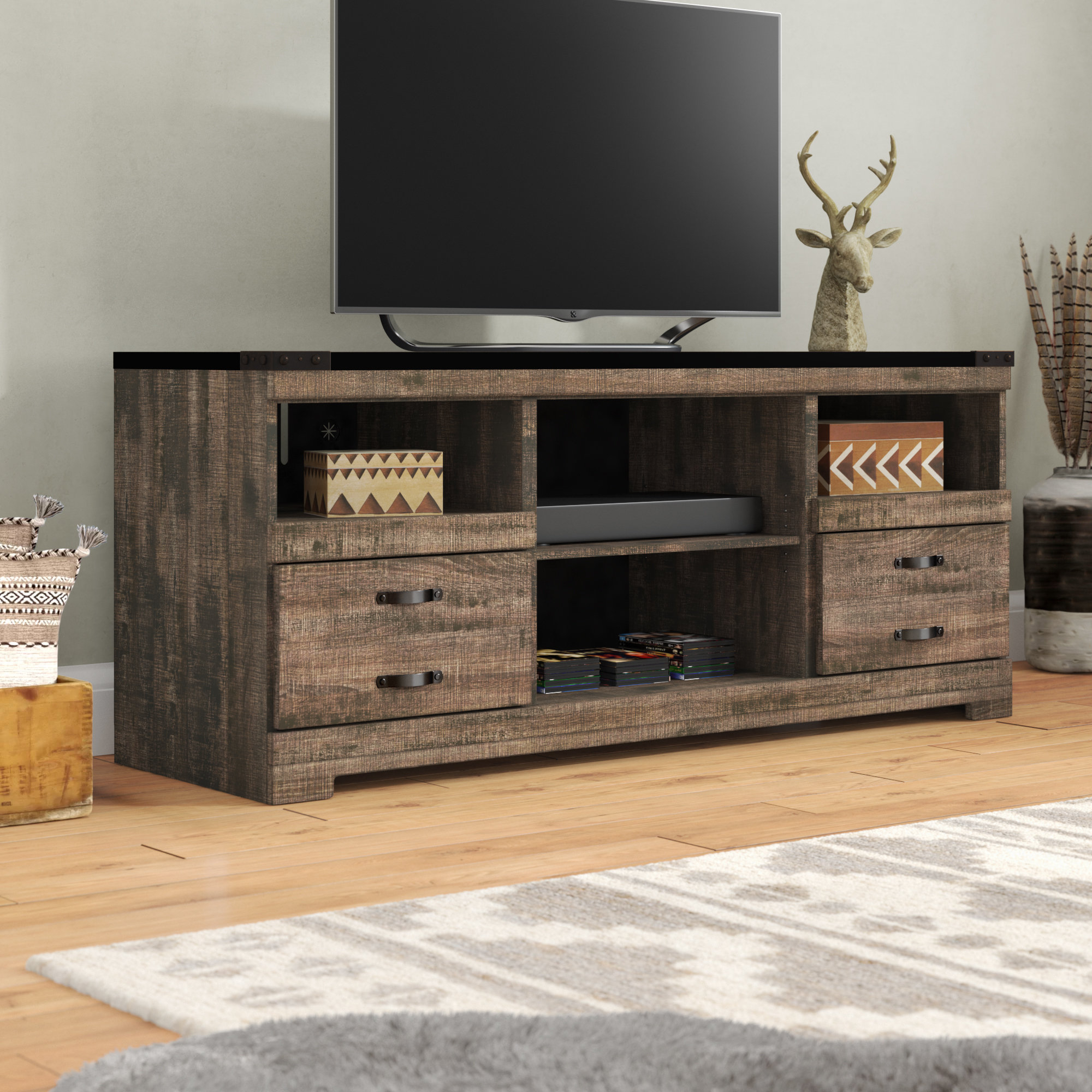"Loon Peak Gage Tv Stand For Tvs Up To 60"" & Reviews 