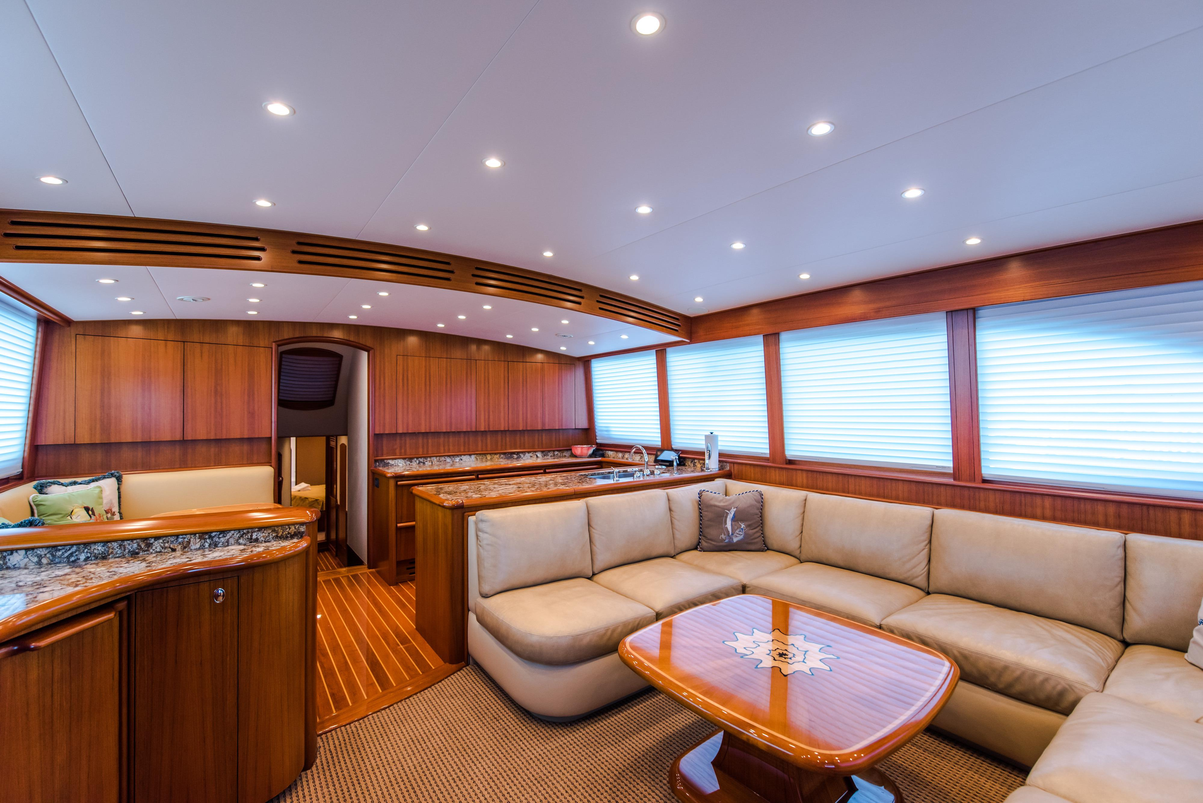 Loud Enuff Mark Willis 2008 76 Custom Sportfish 76 Yacht For Sale In Us With Mikelson Media Console Tables (View 9 of 20)