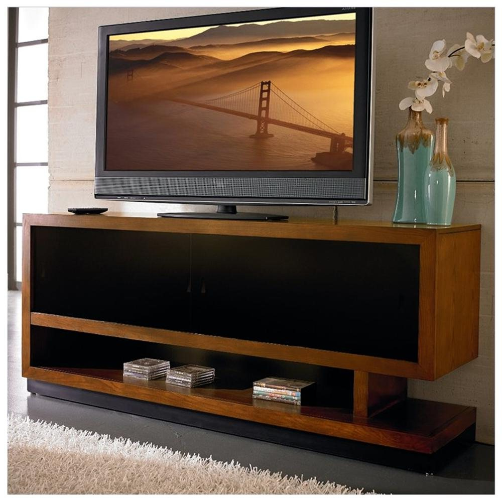 Lovely Wooden Mahogany Cubbies Large And Wide Tv Stand Wooden In Annabelle Black 70 Inch Tv Stands (View 14 of 20)