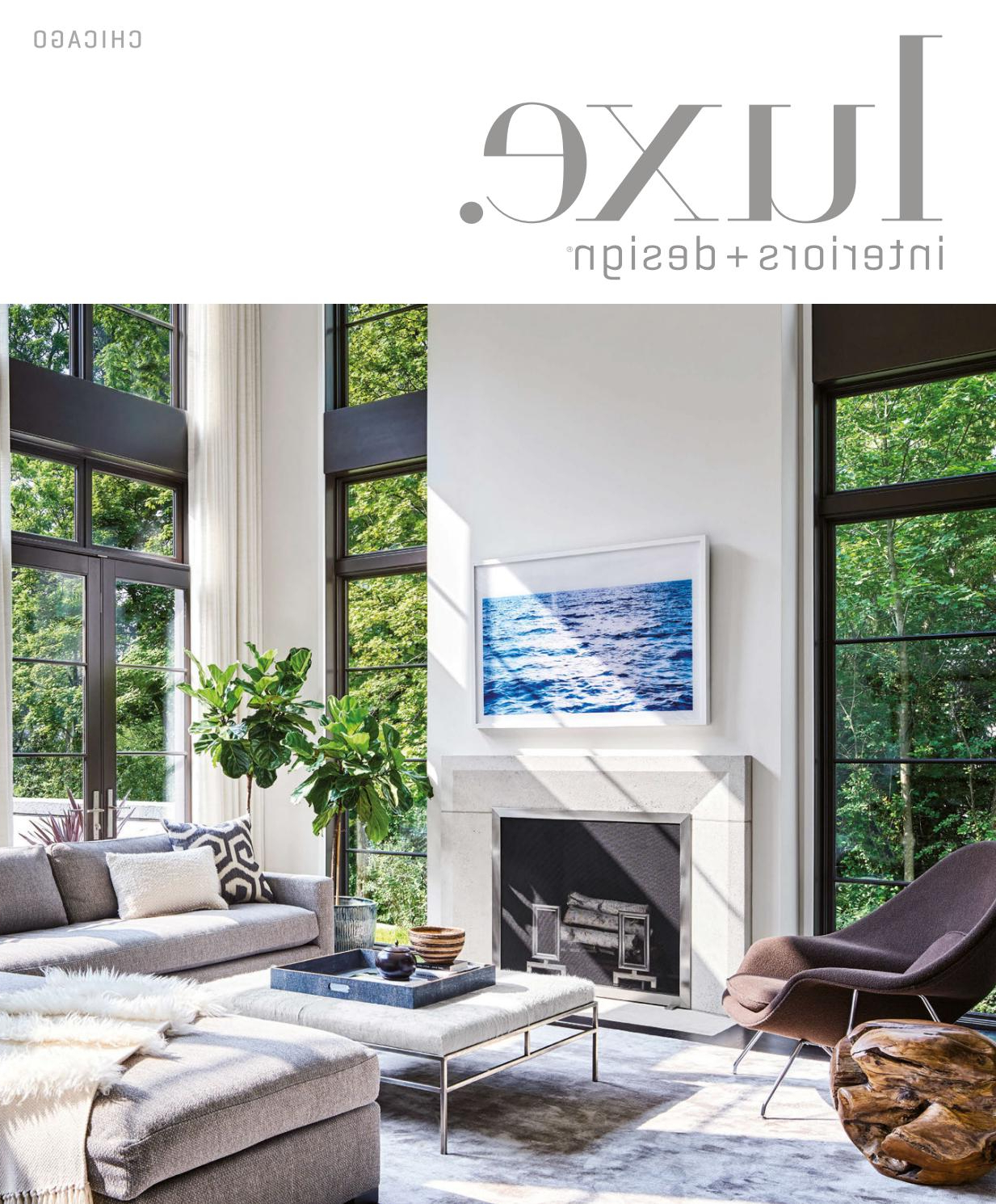 Luxe Magazine March 2017 Chicagosandow® – Issuu Regarding Kilian Black 74 Inch Tv Stands (View 11 of 20)