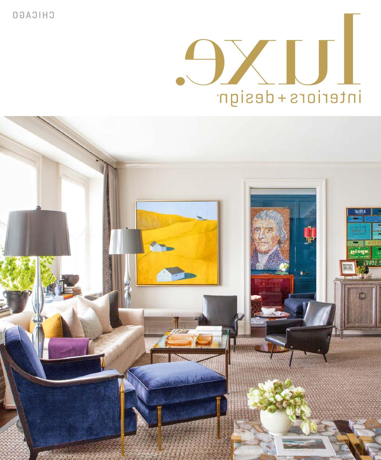 Luxe Magazine September 2015 Chicagosandow® – Issuu Pertaining To Casey Umber 54 Inch Tv Stands (View 6 of 20)