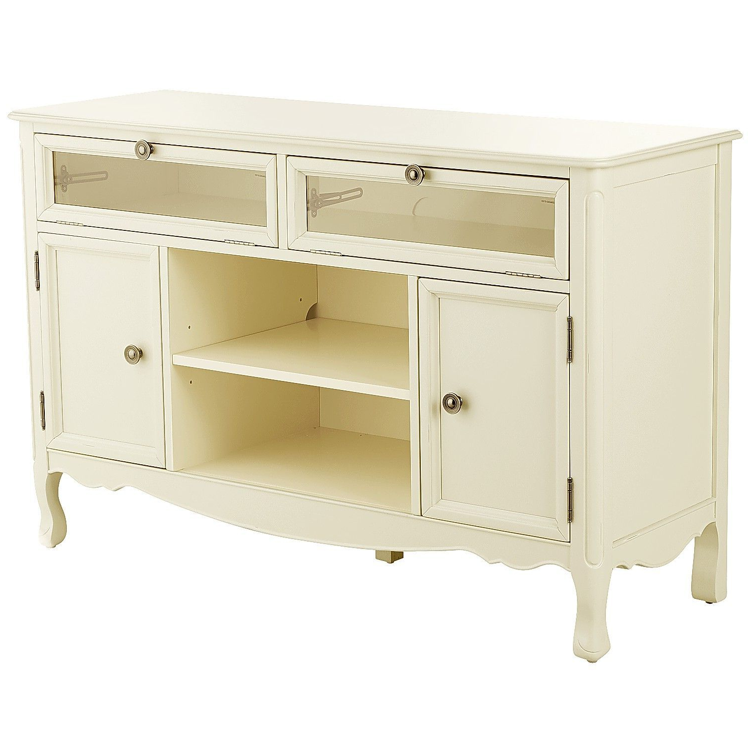 "Madeline Antique White 52"" Tv Stand 