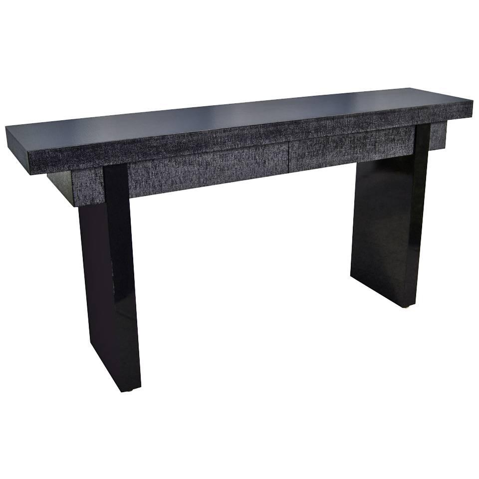 Marble And Bronzed Cast Iron Console Table With Mirroroscar Bach Within Oscar 60 Inch Console Tables (View 14 of 20)