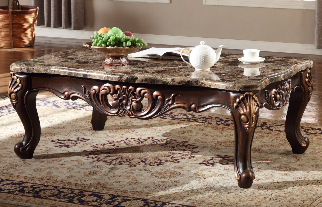 Marble Top Sofa Table – Sofa Ideas Pertaining To Parsons Black Marble Top & Brass Base 48x16 Console Tables (View 16 of 20)