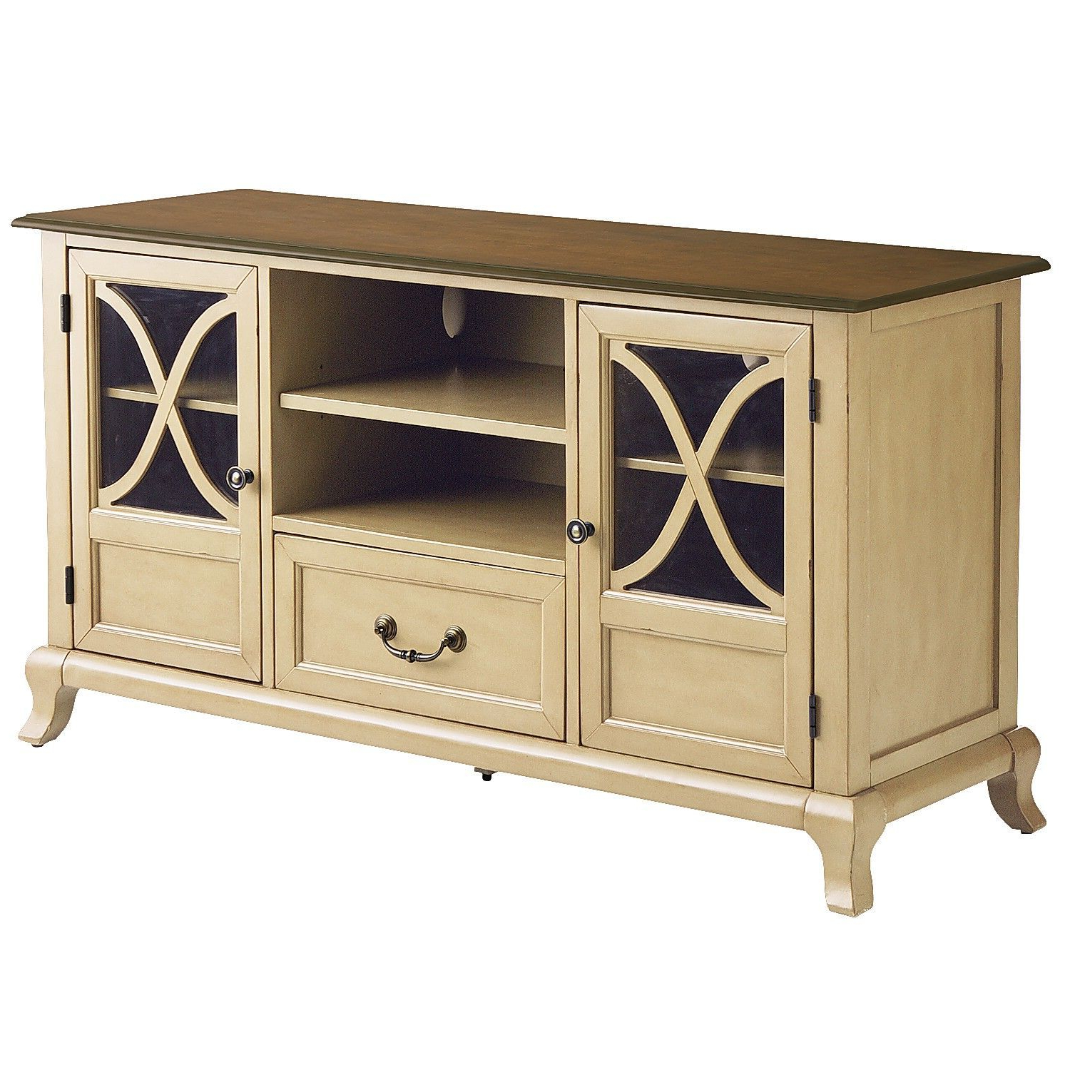 "Marchella Antique Ivory 52"" Tv Stand 
