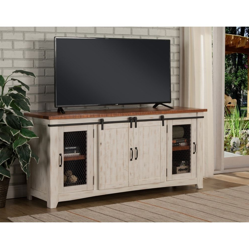 "Martin Svensson Home Taos 65"" Tv Stand – 65 Inches In Width Regarding Dixon White 65 Inch Tv Stands (View 15 of 20)"