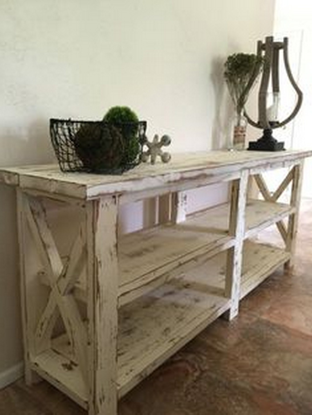 Maximizing Your Room With These Farmhouse Console Table Designs Intended For Layered Wood Small Square Console Tables (View 11 of 20)