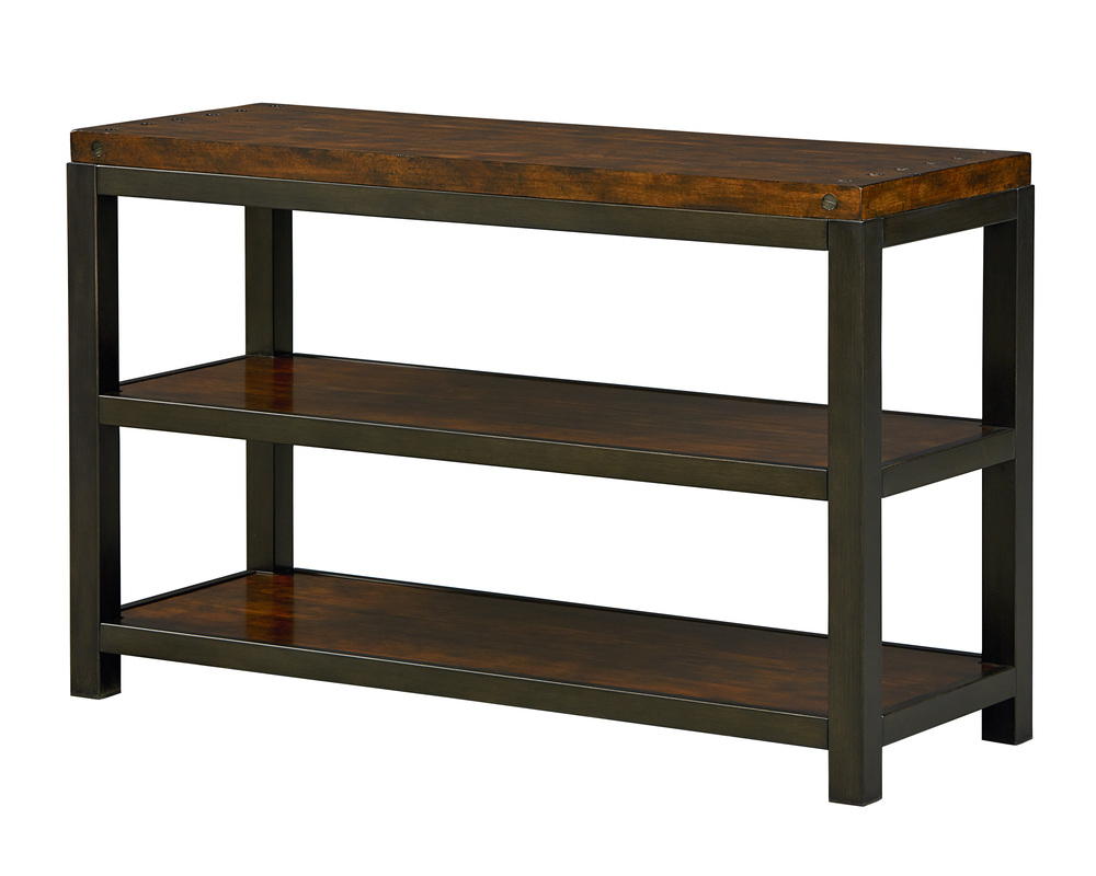 Mckenzie Console Table | Standard Furniture Inside Gunmetal Media Console Tables (View 11 of 20)