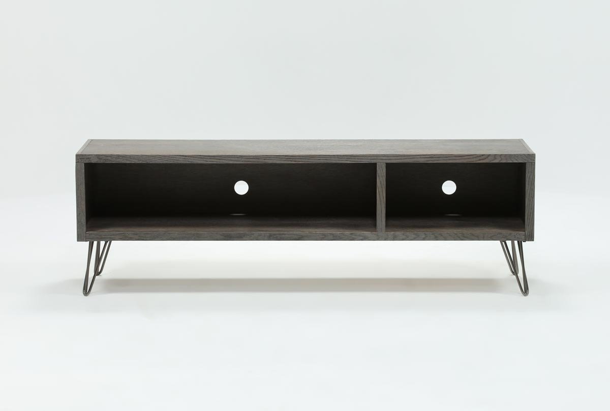 Featured Photo of Melrose Titanium 65 Inch Lowboy Tv Stands