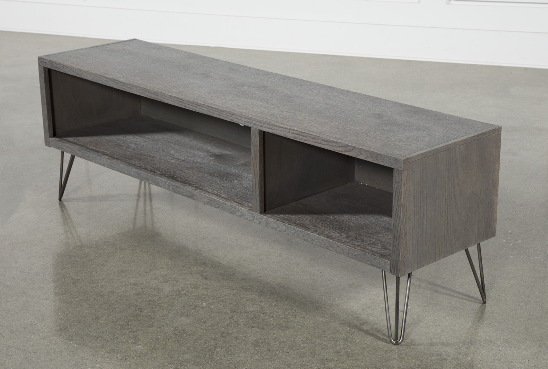 Melrose Titanium 65 Inch Lowboy Tv Stand | Products | Lowboy, Houzz Within Melrose Titanium 65 Inch Lowboy Tv Stands (View 10 of 18)