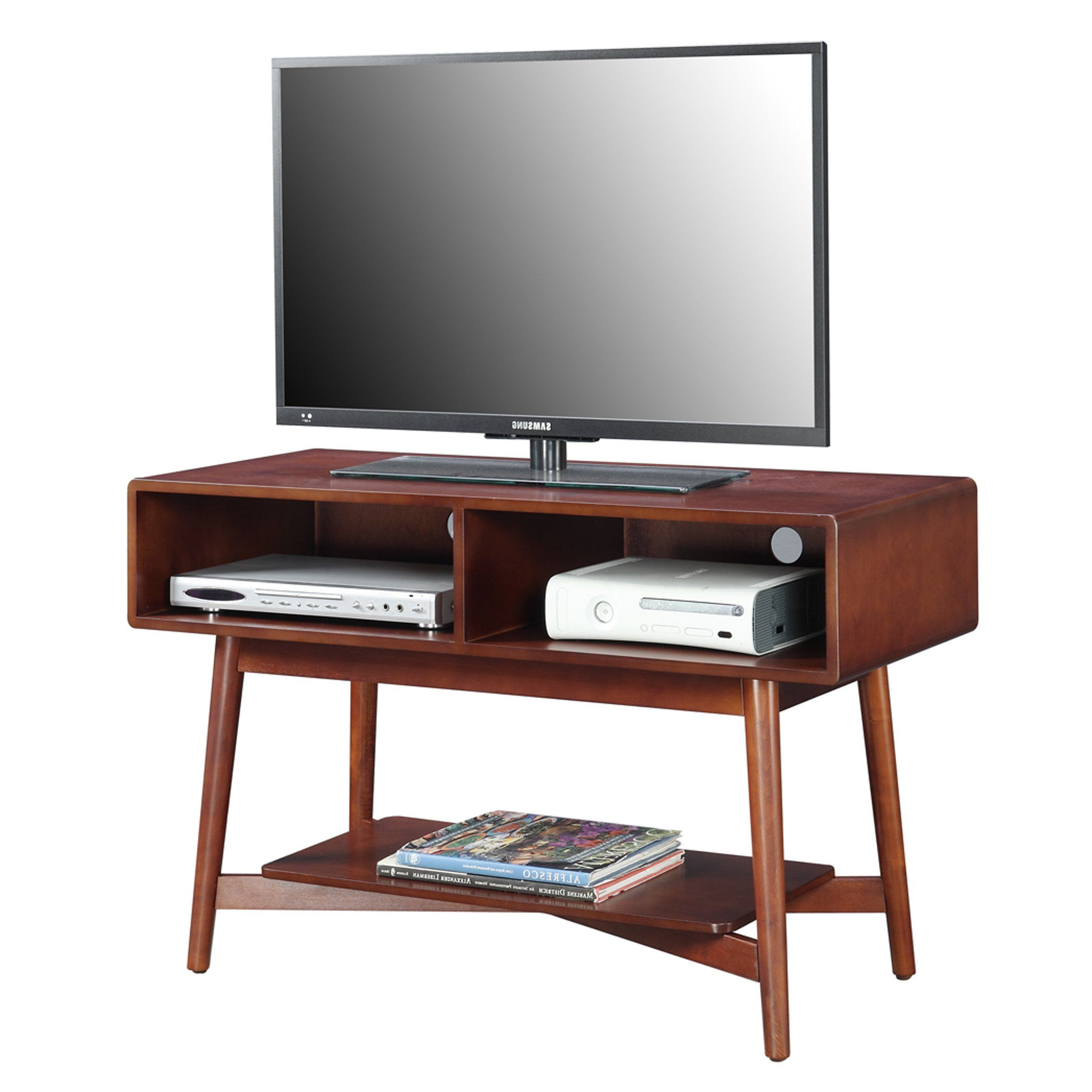 Mercury Row® Borgman Mid Century Tv Stand | Living Room | Pinterest Pertaining To Draper 62 Inch Tv Stands (View 14 of 20)