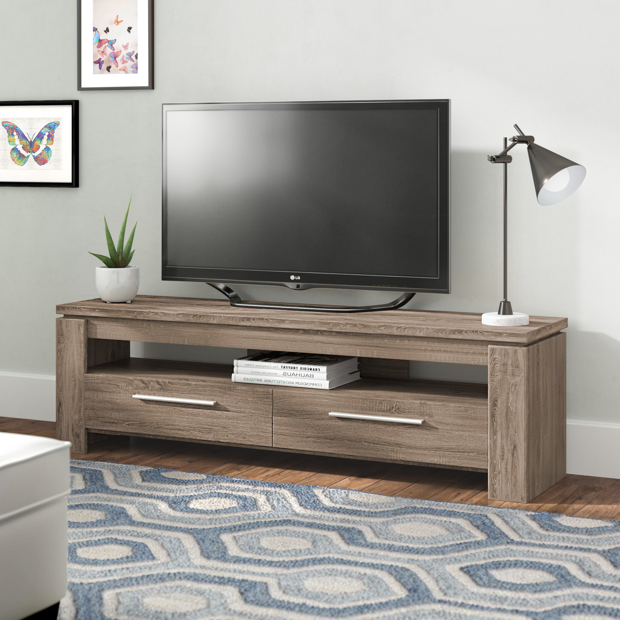 Mercury Row Rorie Tv Stand & Reviews | Wayfair With Lauderdale 62 Inch Tv Stands (View 15 of 20)