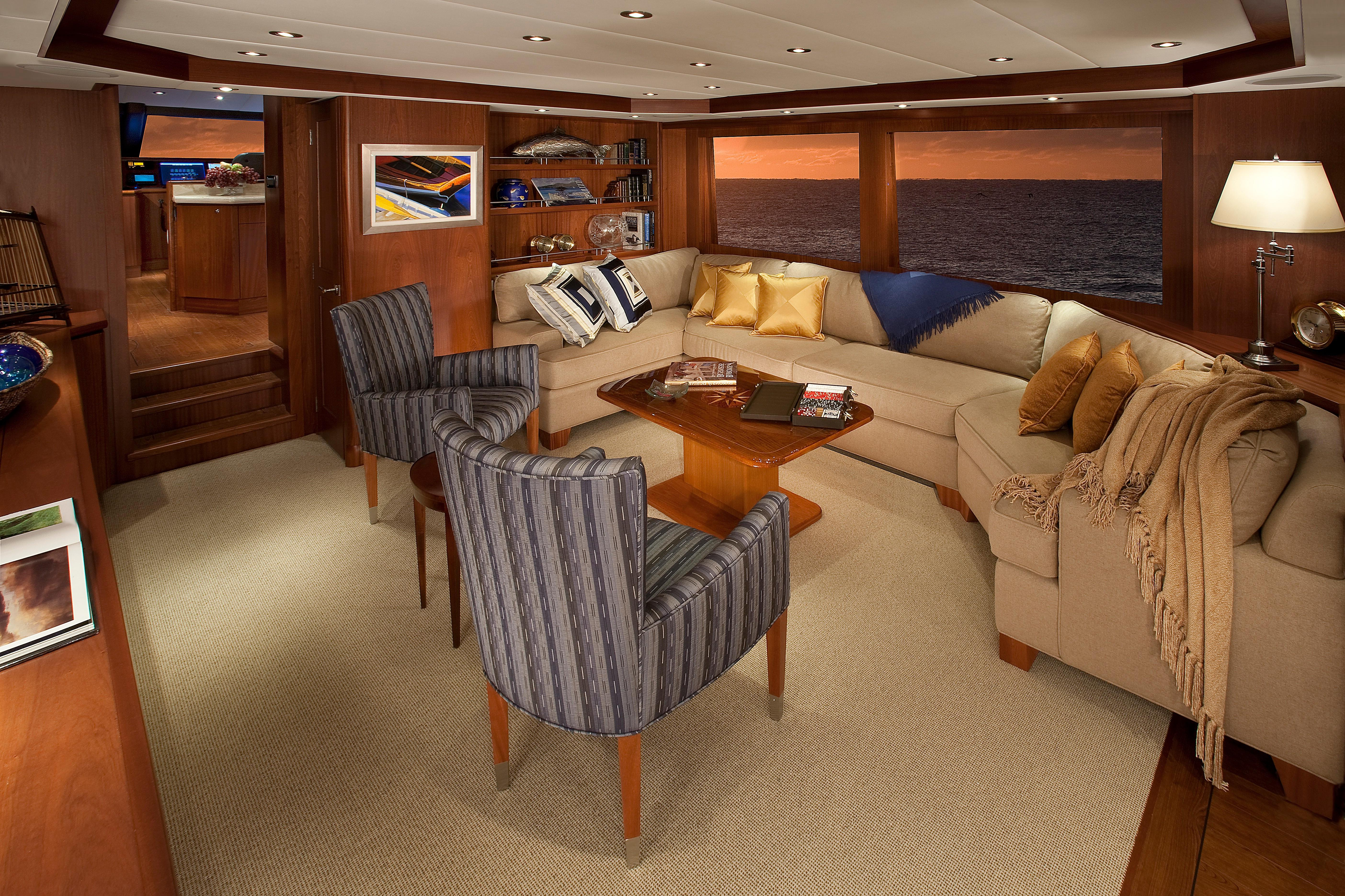 Meriweather Queenship 2009 74 Rph 74 Yacht For Sale In Us With Mikelson Media Console Tables (View 11 of 20)