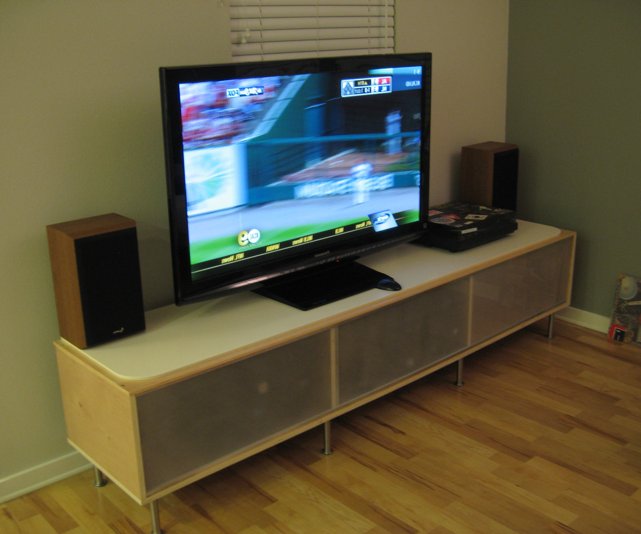 Modern Tv Stand Ikea Hemnes Entertainment Wall Units With Fireplace With Forma 65 Inch Tv Stands (View 14 of 20)