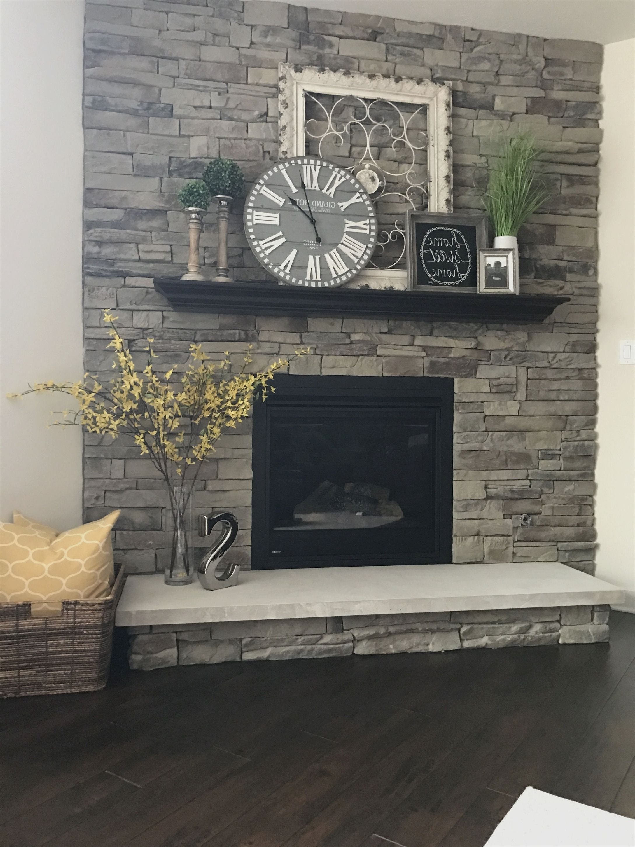 My Fireplace.tal Frame, Home Sign, & Clock (Hobby Lobby) (View 15 of 20)