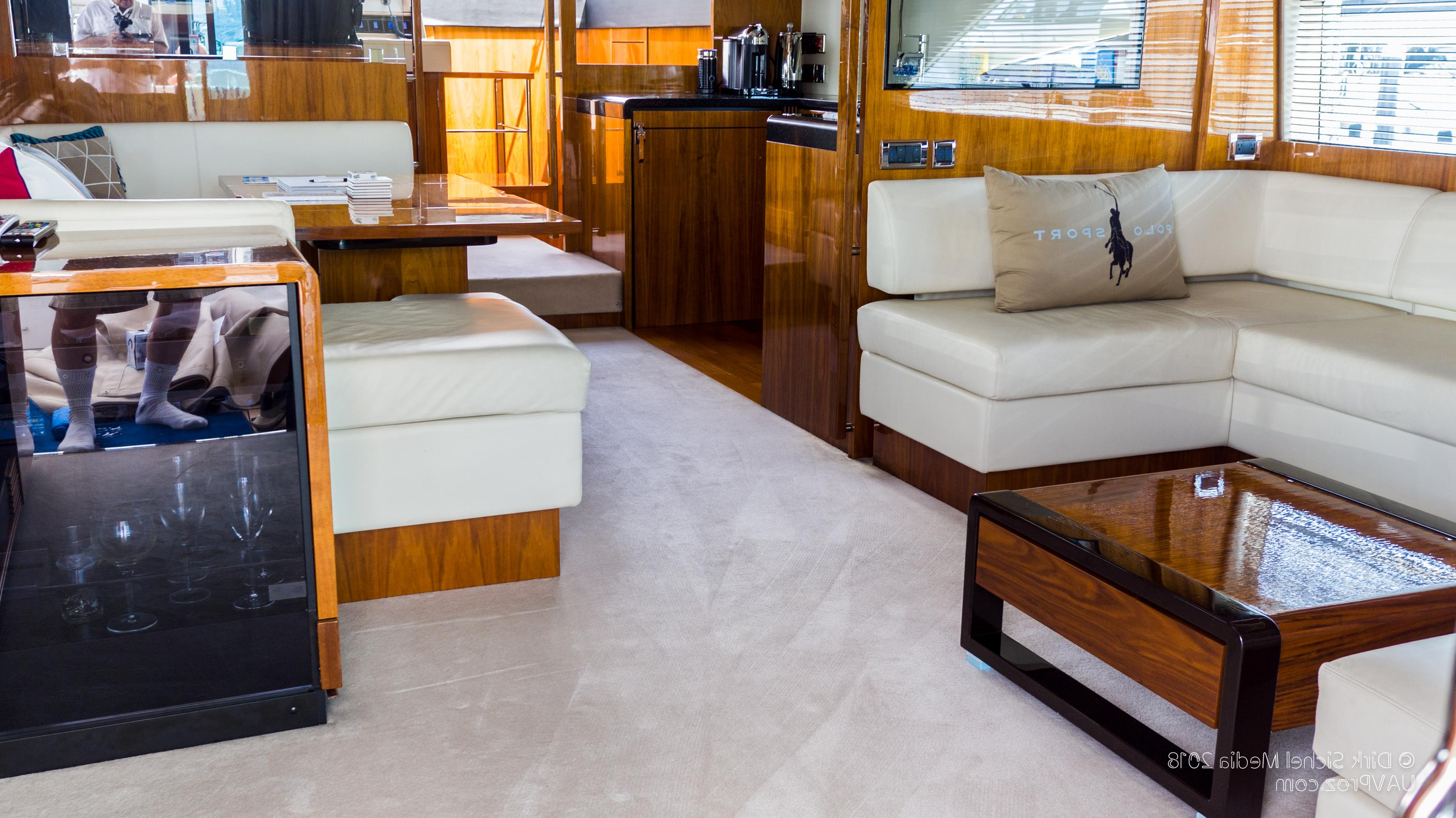 Nauti Buoy's Fairline 2012 Squadron 65 65 Yacht For Sale In Us Within Mikelson Media Console Tables (View 14 of 20)