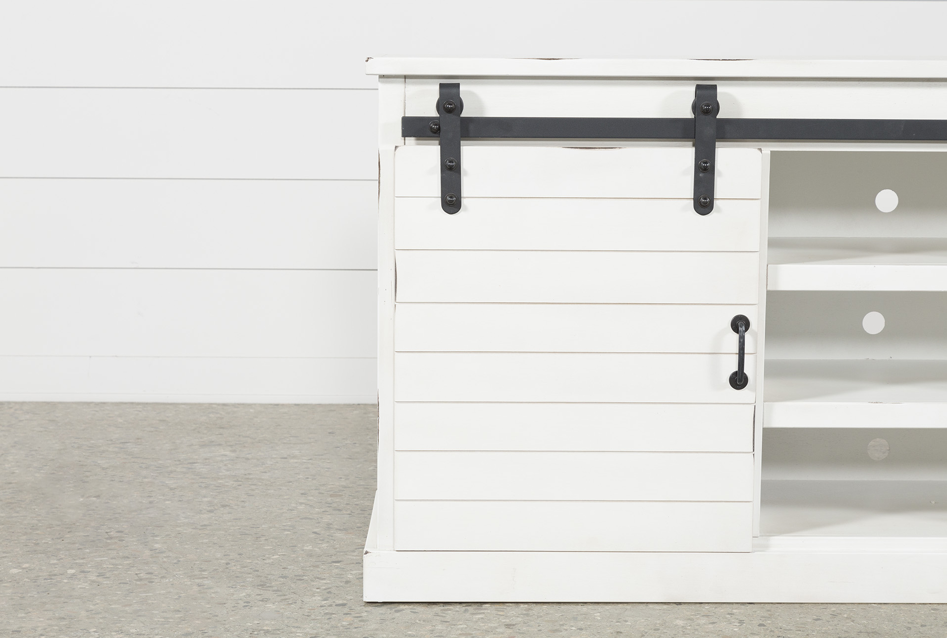 Noah Rustic White 66 Inch Tv Stand | Hamptons Style Staging In Noah Rustic White 66 Inch Tv Stands (View 2 of 20)