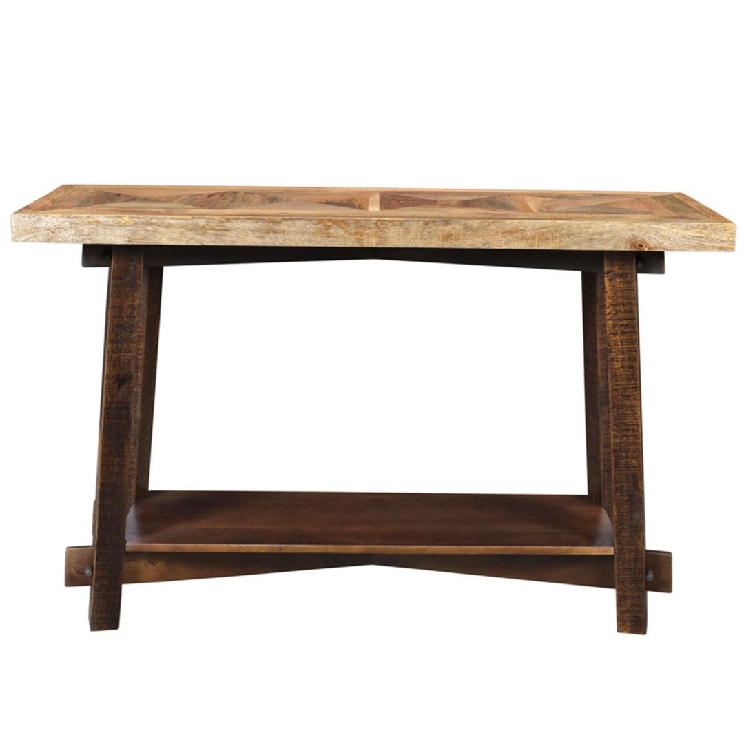 Nspire Yukon Console Table Dark Walnut Disc 502 949 Driftwood Intended For Yukon Natural Console Tables (View 4 of 20)