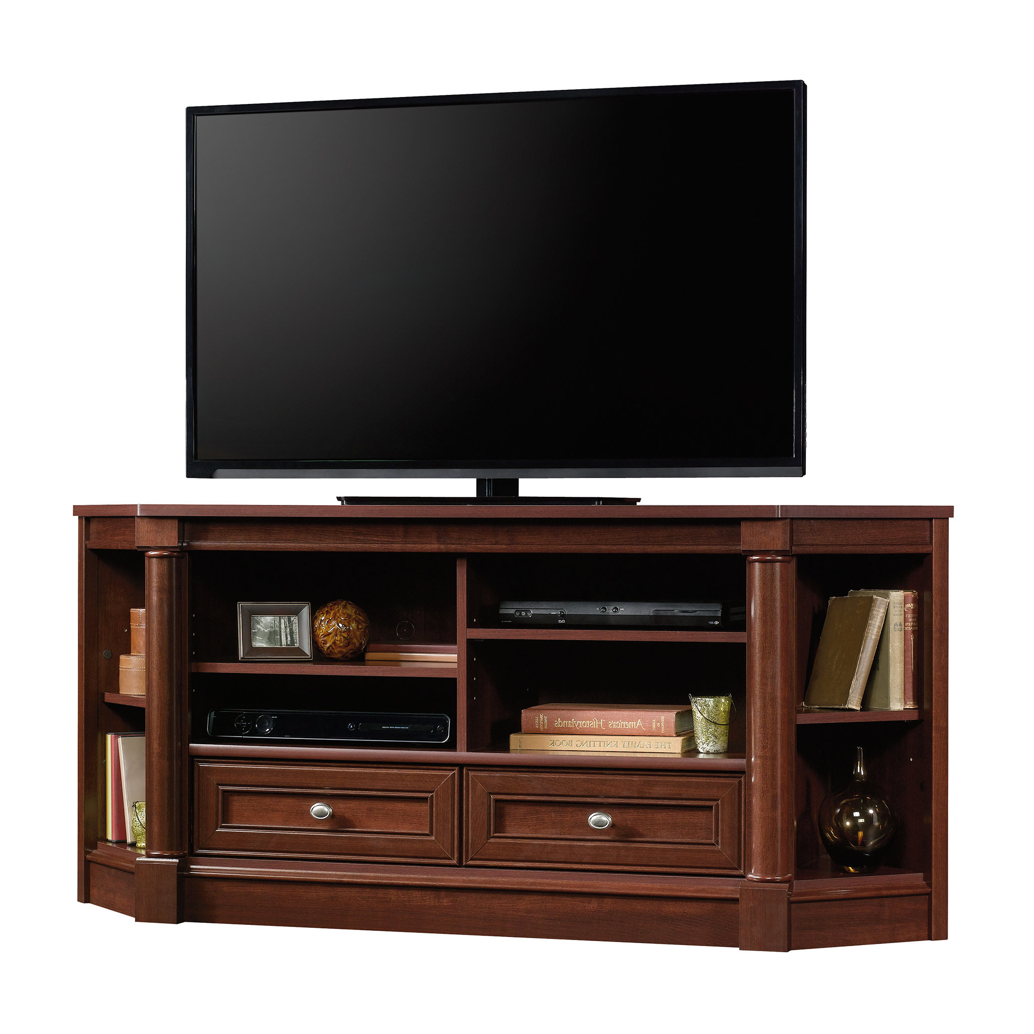 """Orviston Corner Tv Stand For Tvs Up To 60"""" & Reviews 