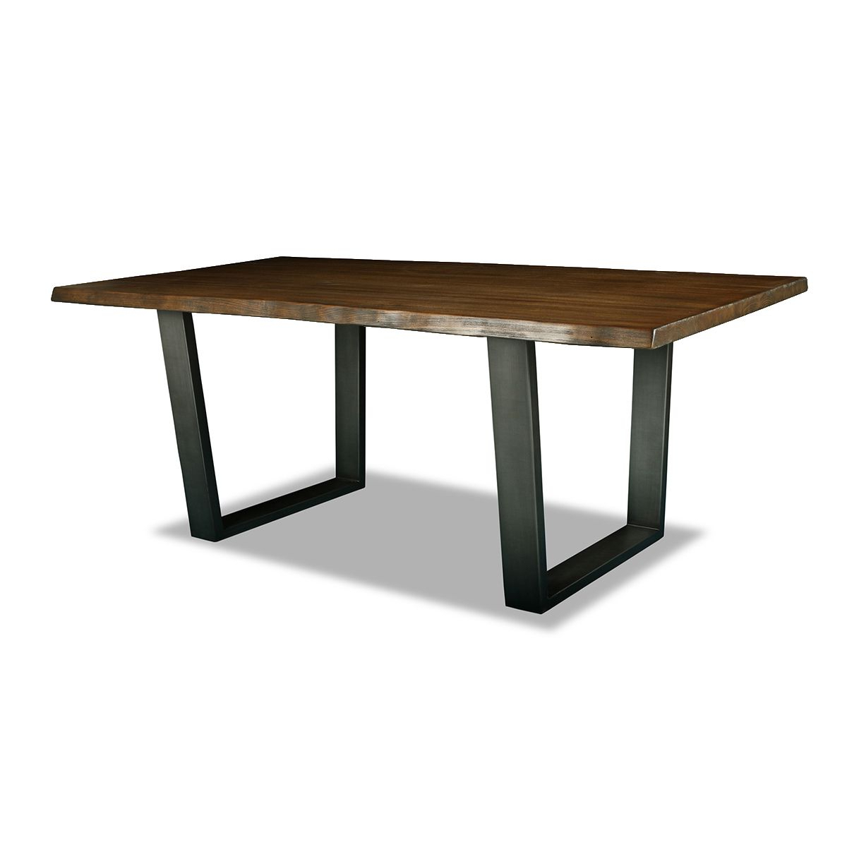 Parsons Travertine Top/ Dark Steel Base Dining Tables Within Parsons Walnut Top & Brass Base 48X16 Console Tables (Gallery 19 of 20)