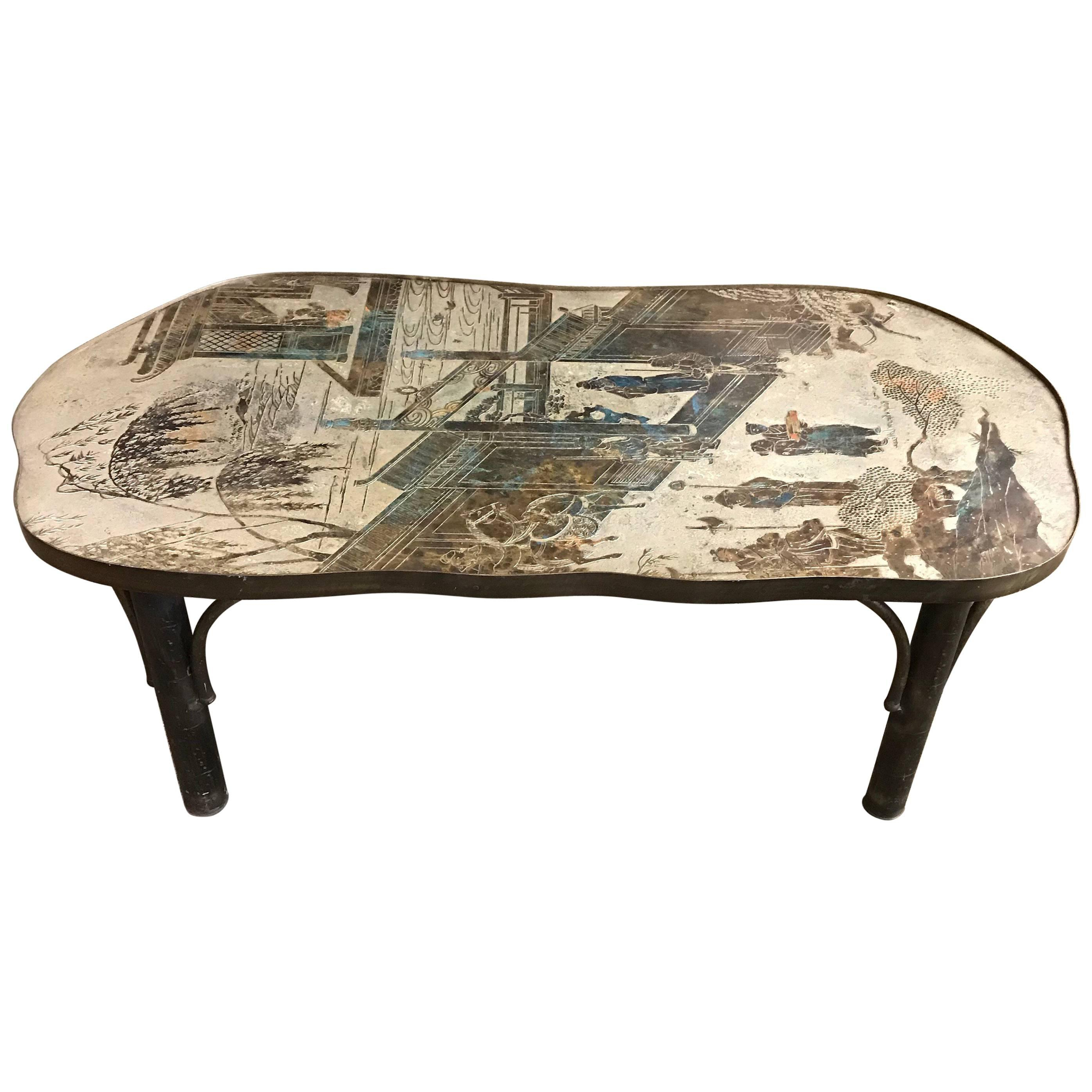 Philip And Kelvin Laverne Tables – 130 For Sale At 1stdibs – Page 2 For Phillip Brass Console Tables (View 5 of 20)