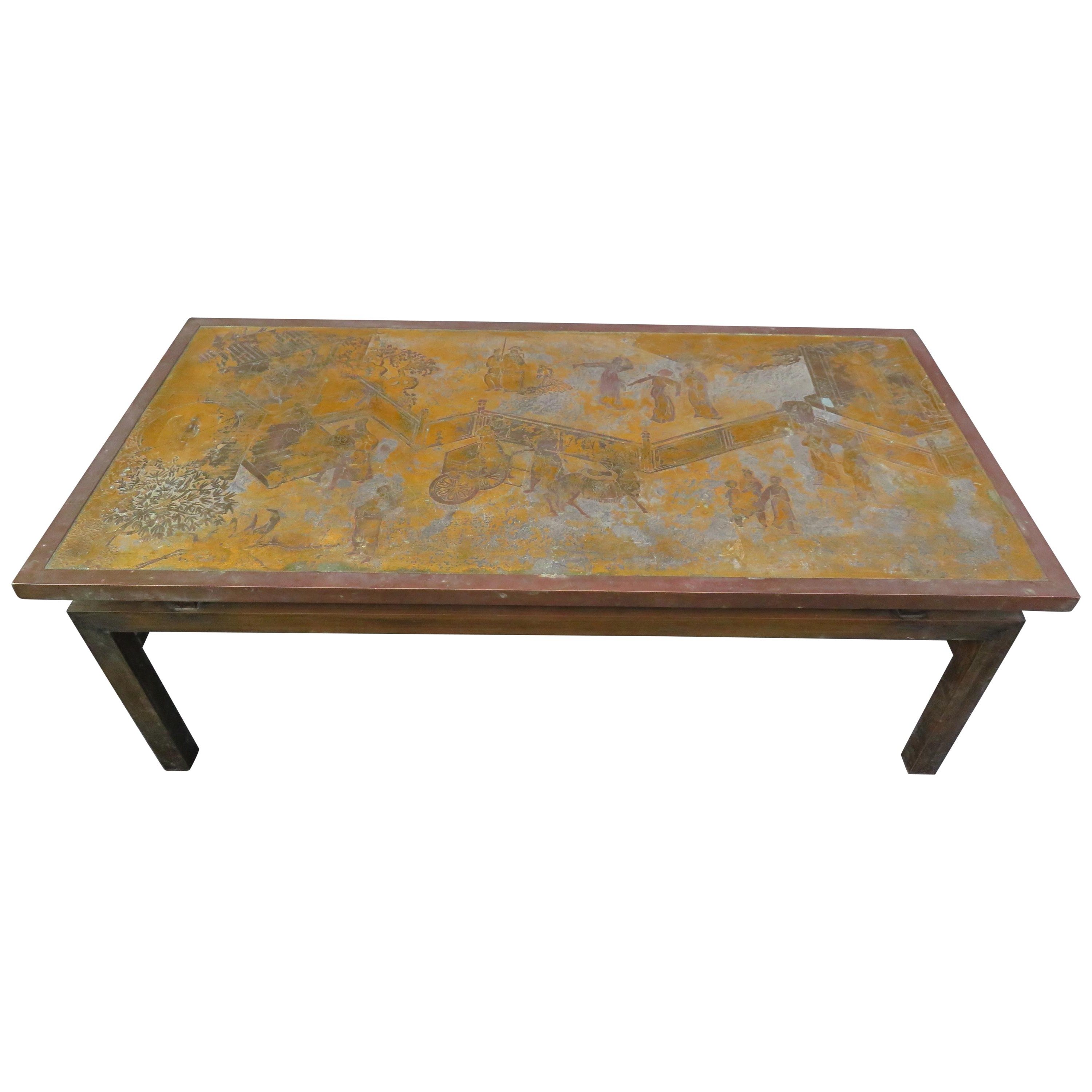 Philip And Kelvin Laverne Tables – 132 For Sale At 1Stdibs Inside Phillip Brass Console Tables (View 9 of 20)