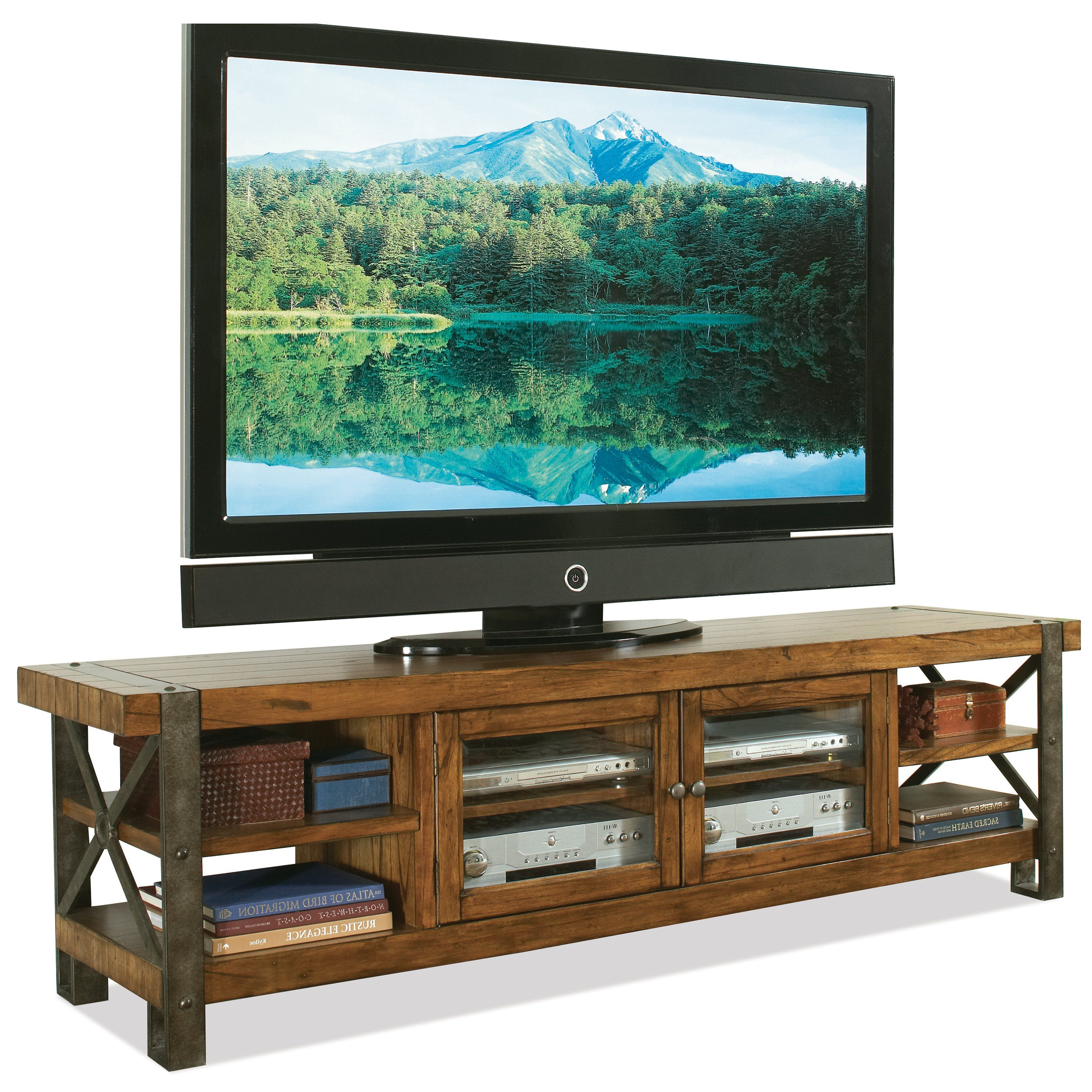 Pinvicki Bolser On Tv Console | Pinterest | Consoles Regarding Sinclair Blue 74 Inch Tv Stands (View 13 of 20)