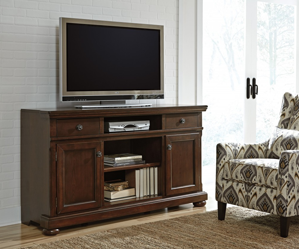 Porter – Xl Tv Stand W/fireplace Option | W697 132 | Tv Stand Inside Wyatt 68 Inch Tv Stands (View 8 of 20)