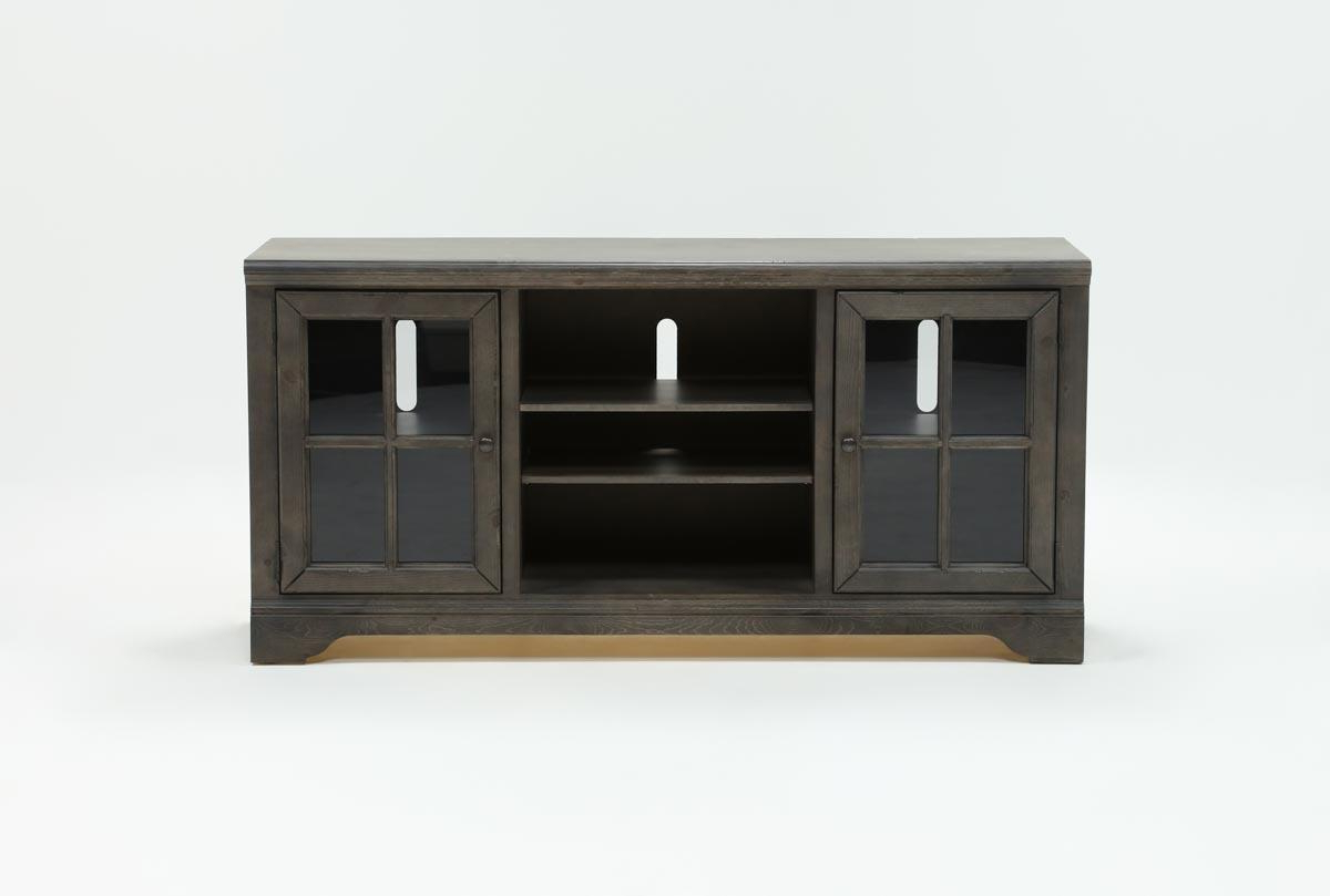 Preston 66 Inch Tv Stand | Living Spaces In Vista 60 Inch Tv Stands (View 14 of 20)
