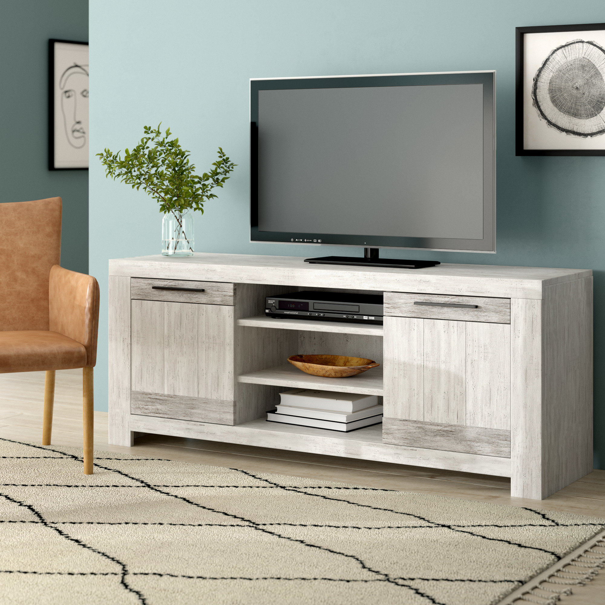 Provence Tv Stand | Wayfair.co (View 12 of 20)